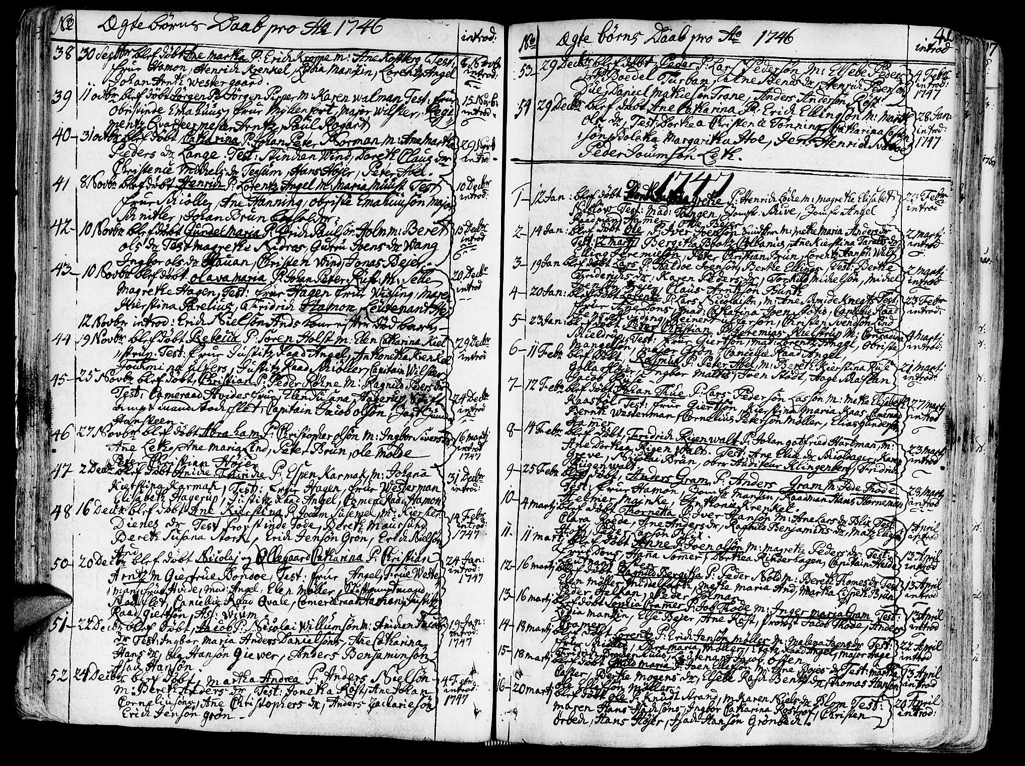 SAT, Ministerialprotokoller, klokkerbøker og fødselsregistre - Sør-Trøndelag, 602/L0103: Ministerialbok nr. 602A01, 1732-1774, s. 41