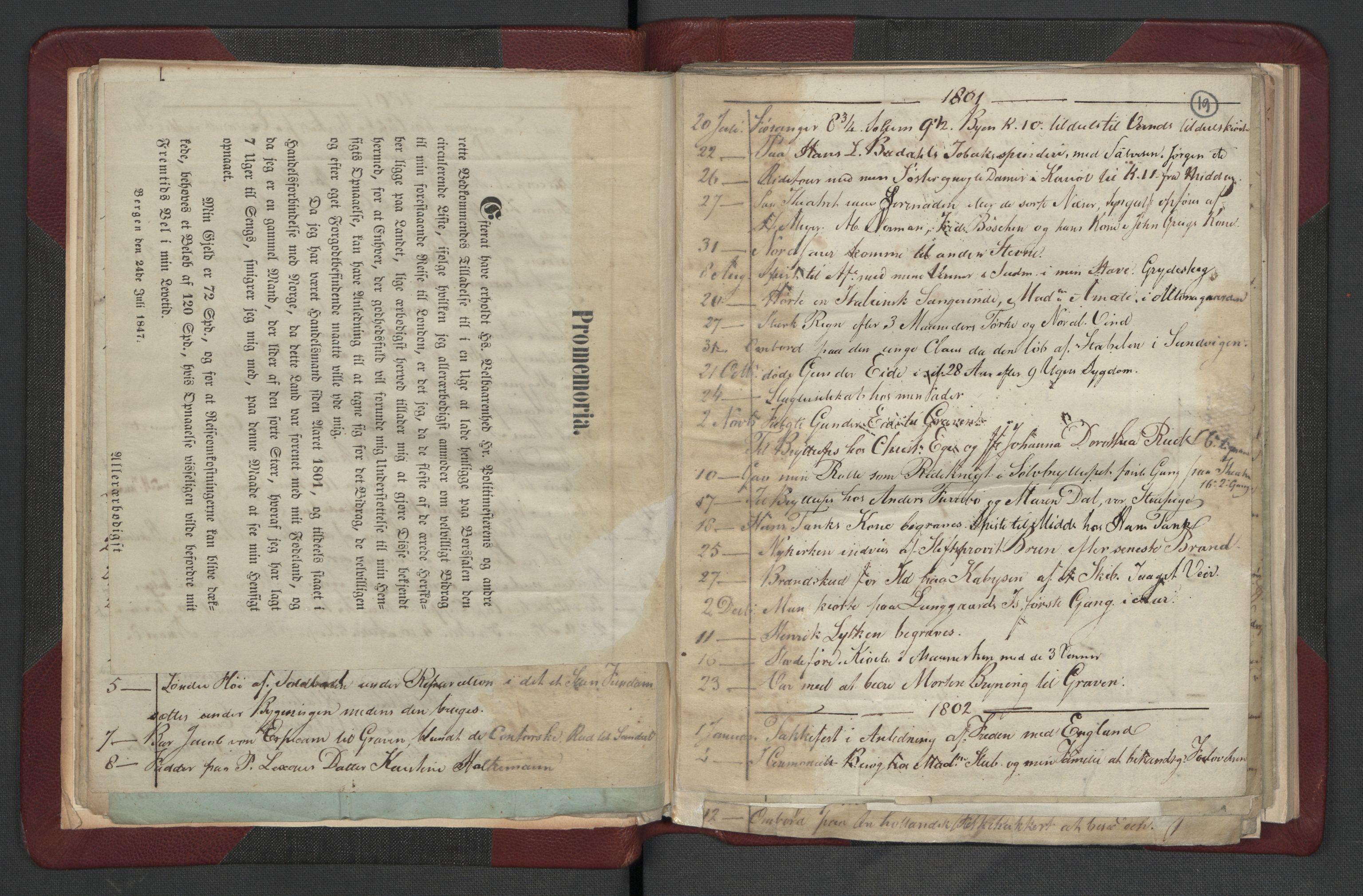 RA, Meltzer, Fredrik, F/L0002: Dagbok, 1796-1808, s. 18b-19a
