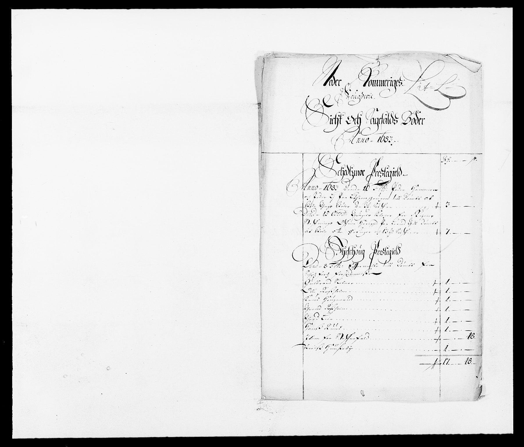 RA, Rentekammeret inntil 1814, Reviderte regnskaper, Fogderegnskap, R11/L0571: Fogderegnskap Nedre Romerike, 1683-1685, s. 72