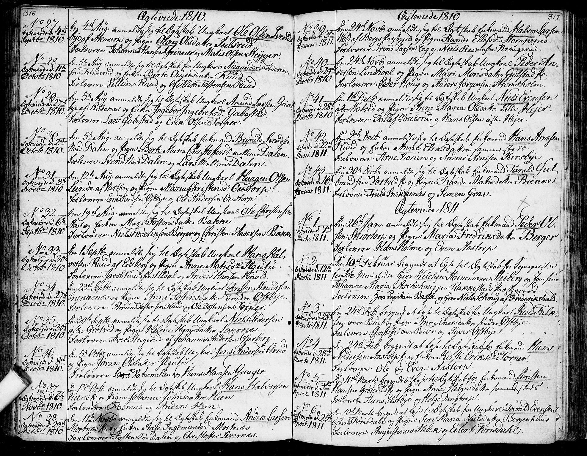 SAO, Rakkestad prestekontor Kirkebøker, F/Fa/L0005: Ministerialbok nr. I 5, 1784-1814, s. 316-317