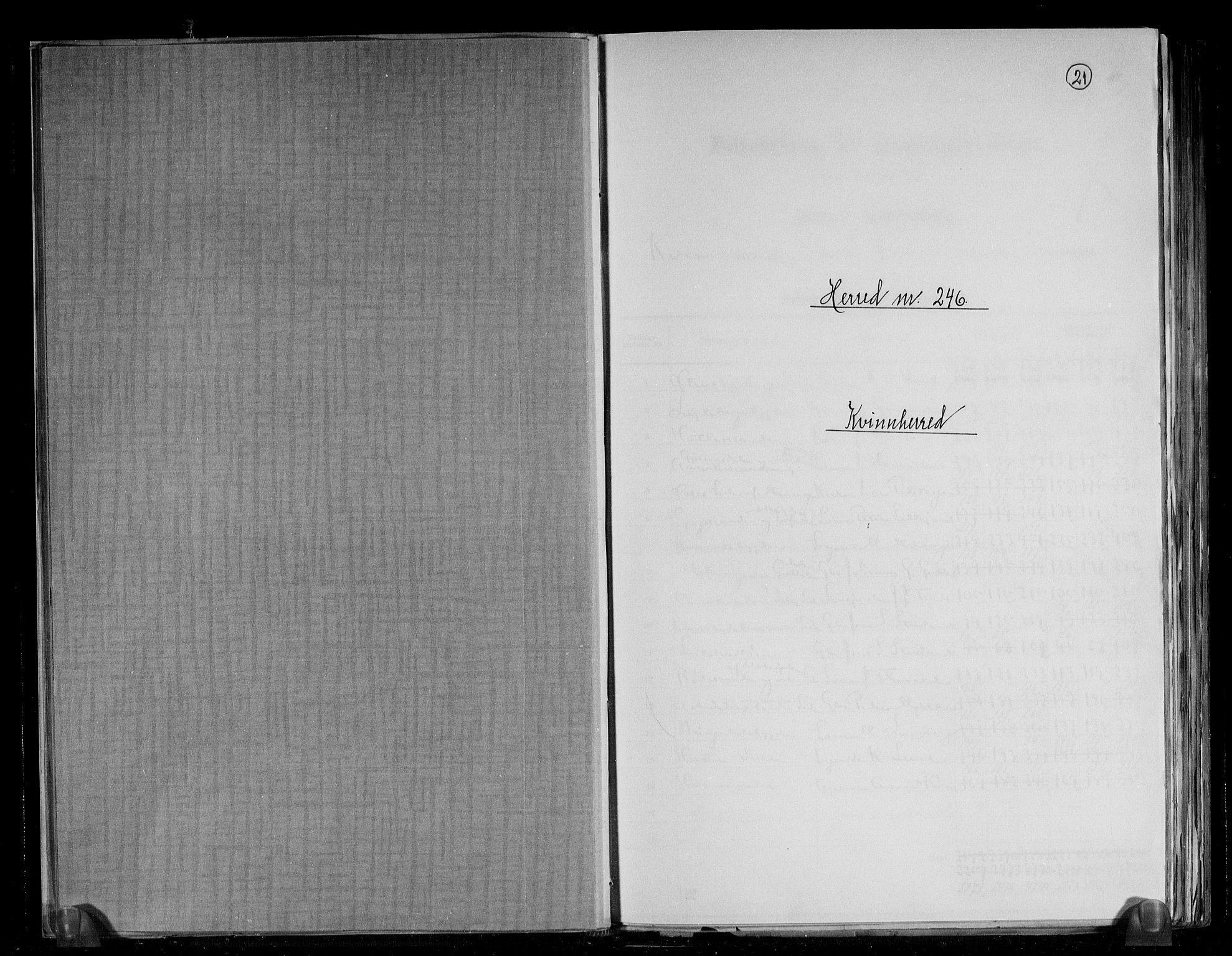 RA, Folketelling 1891 for 1224 Kvinnherad herred, 1891, s. 1