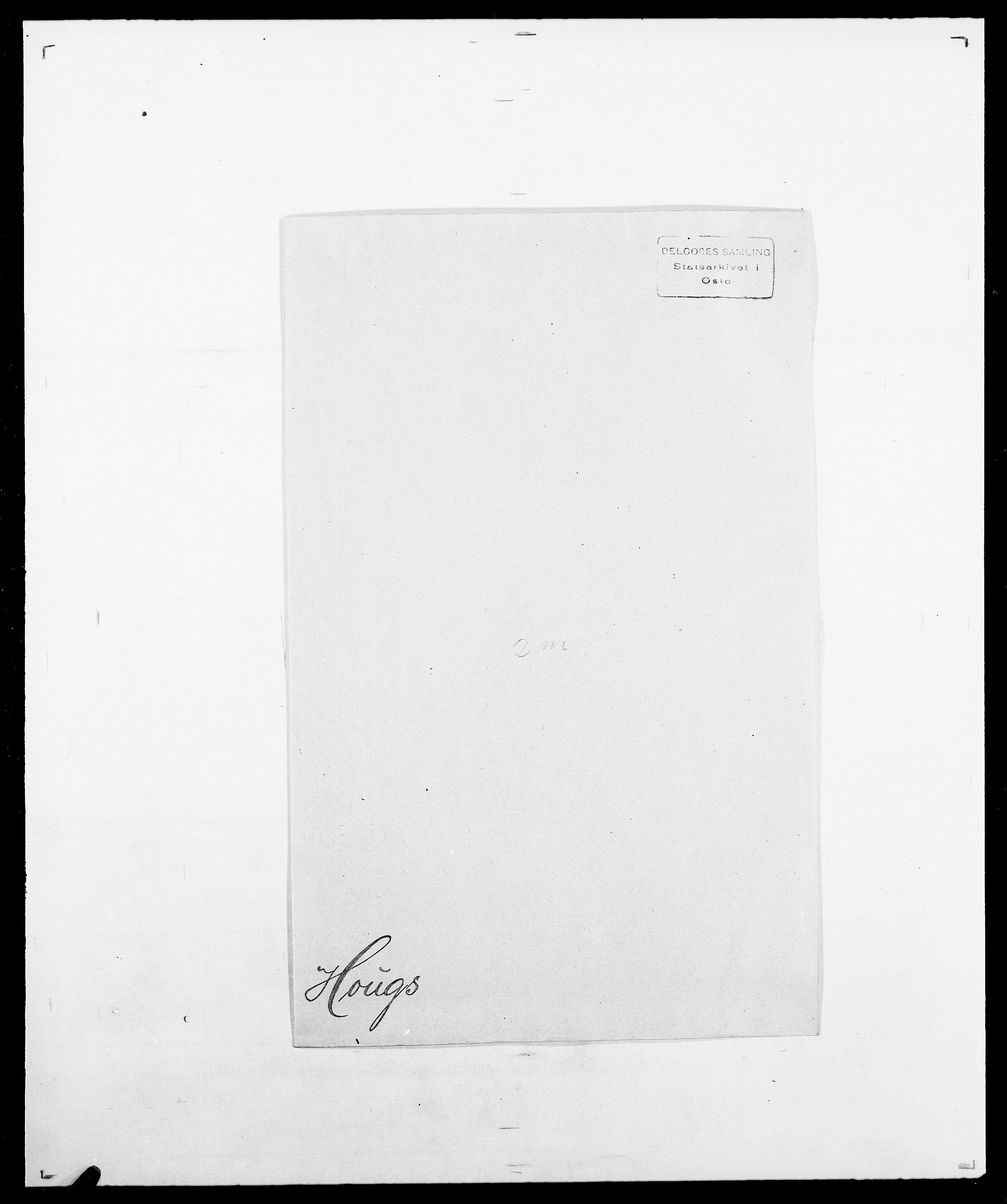SAO, Delgobe, Charles Antoine - samling, D/Da/L0018: Hoch - Howert, s. 1024