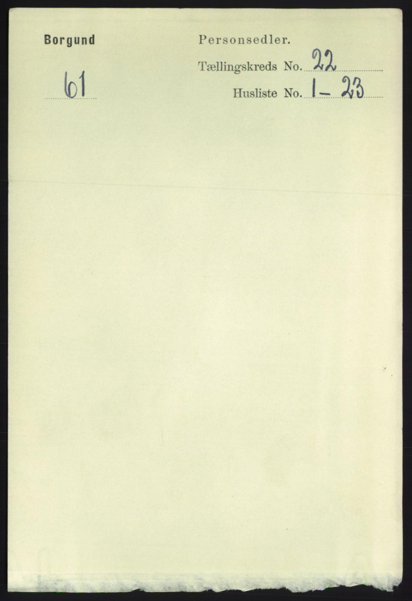 RA, Folketelling 1891 for 1531 Borgund herred, 1891, s. 6640