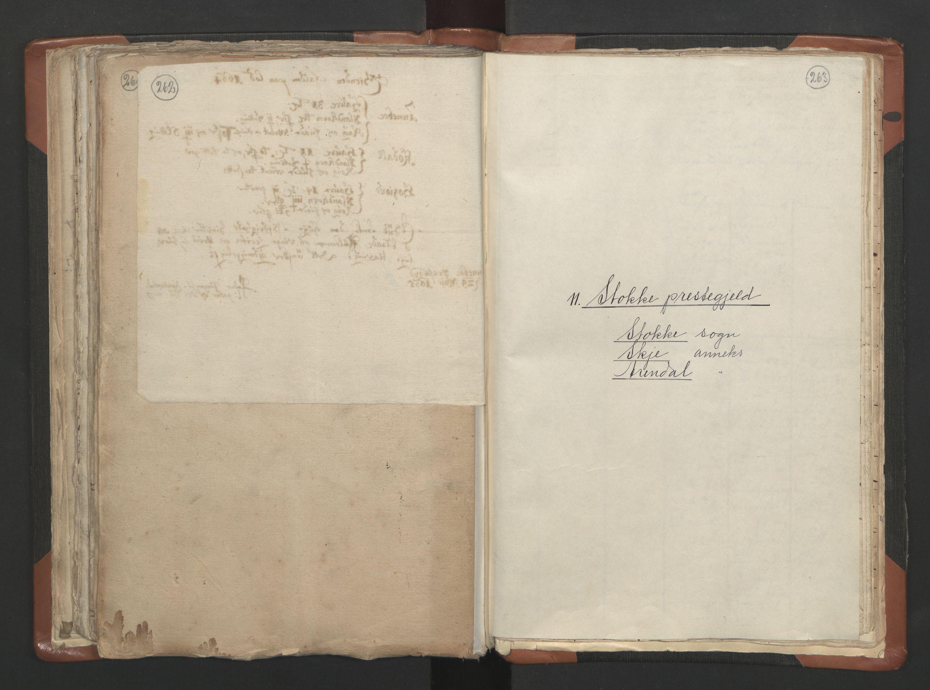 RA, Sogneprestenes manntall 1664-1666, nr. 10: Tønsberg prosti, 1664-1666, s. 262-263