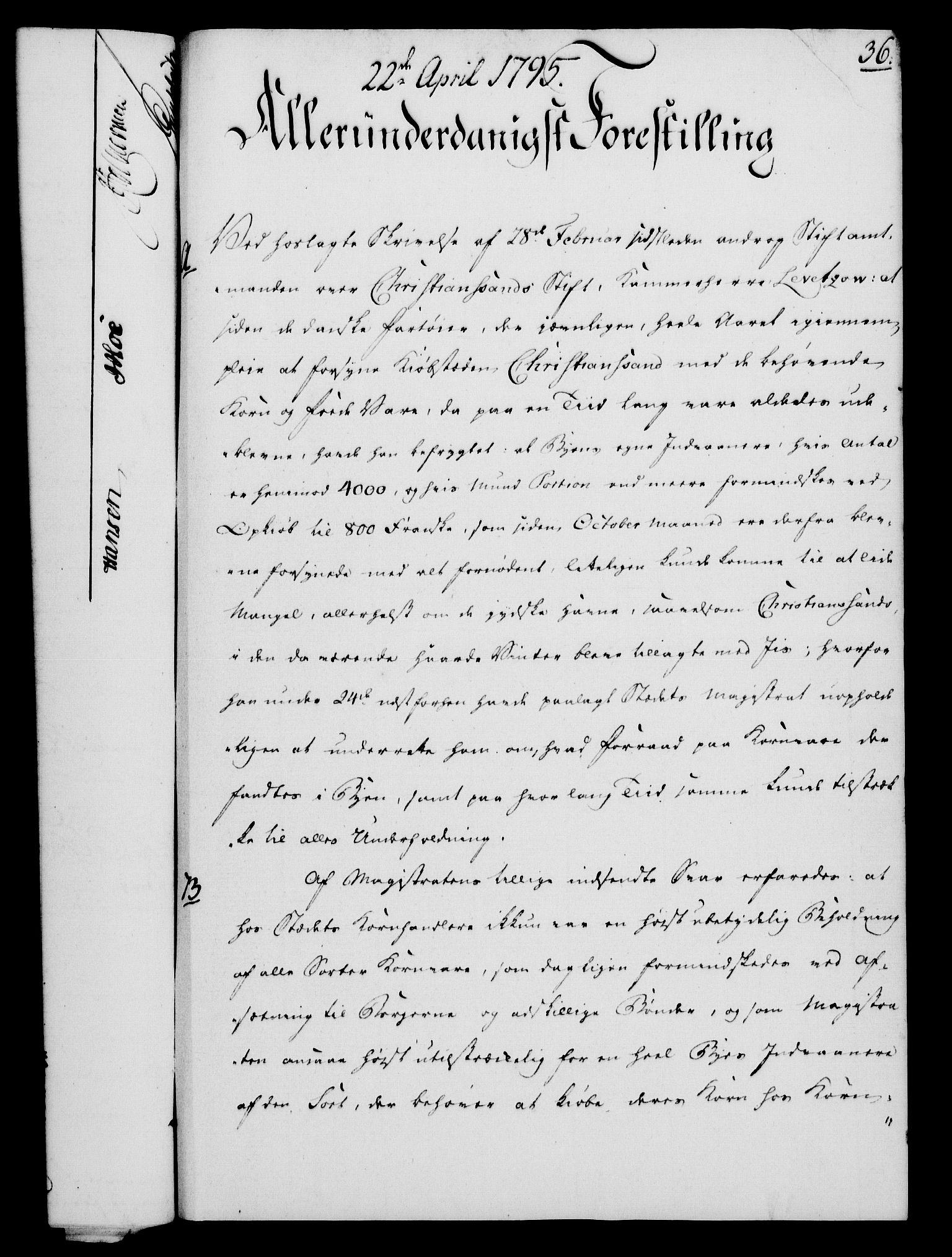 RA, Rentekammeret, Kammerkanselliet, G/Gf/Gfa/L0077: Norsk relasjons- og resolusjonsprotokoll (merket RK 52.77), 1795, s. 202