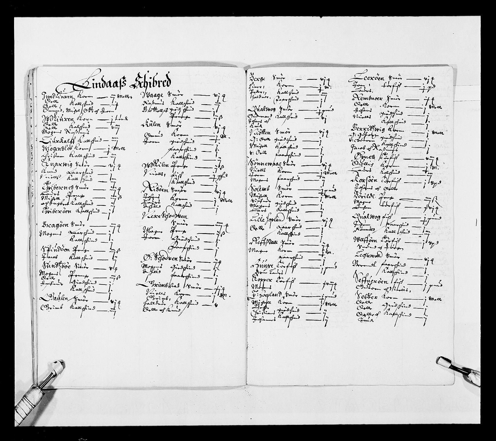 RA, Stattholderembetet 1572-1771, Ek/L0025: Jordebøker 1633-1658:, 1645-1646, s. 91