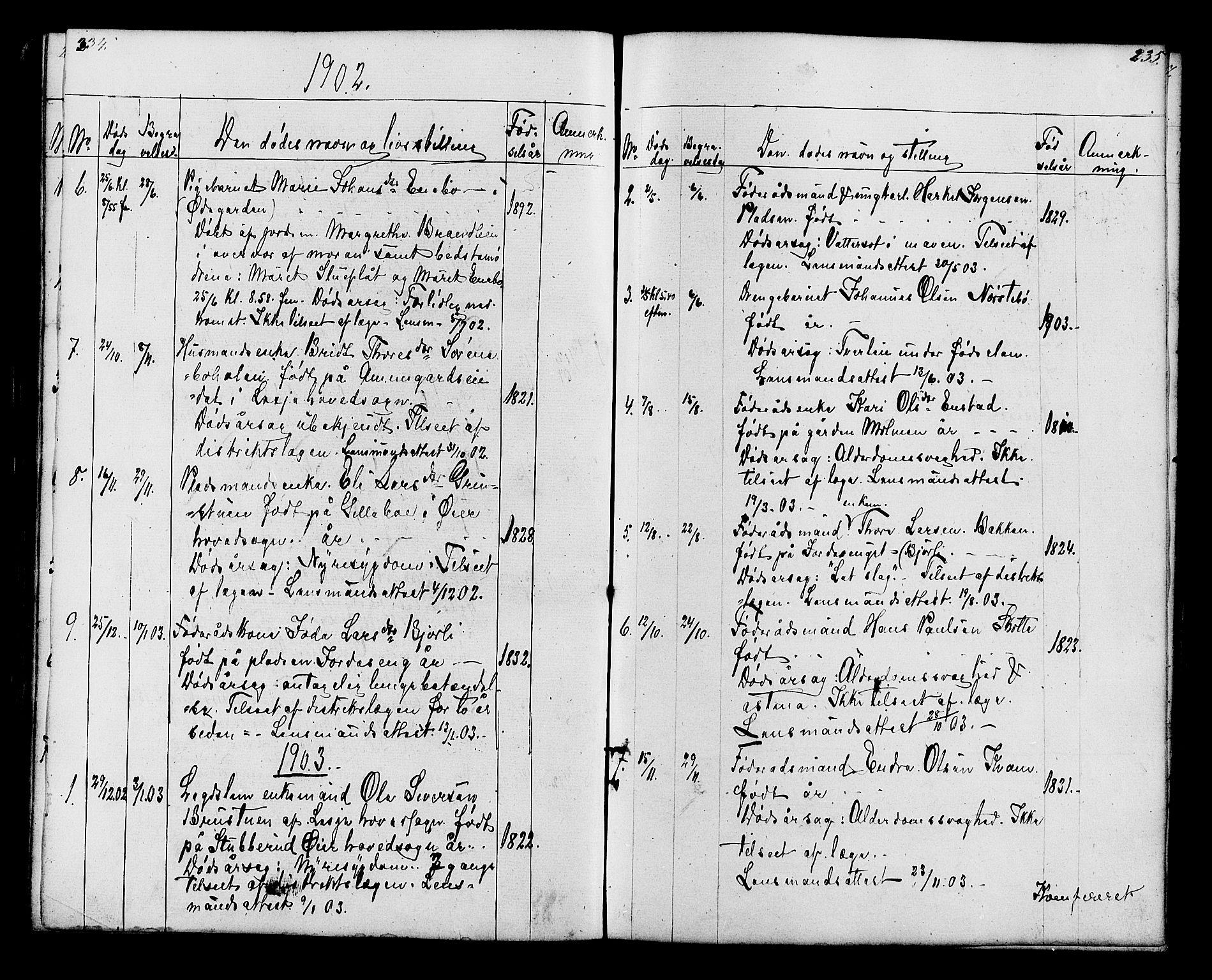 SAH, Lesja prestekontor, Klokkerbok nr. 6, 1871-1904, s. 236-237