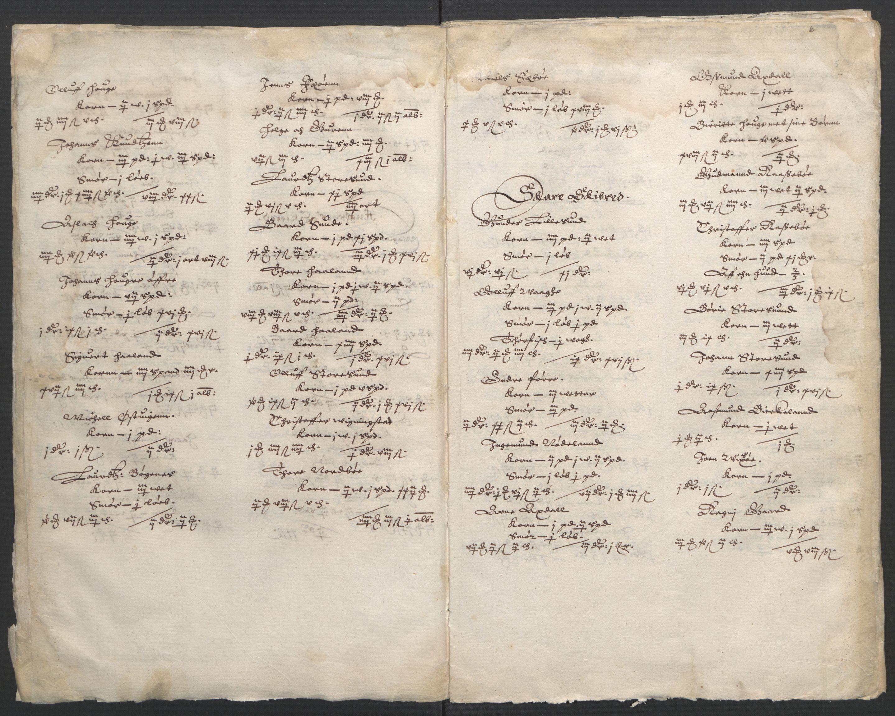 RA, Stattholderembetet 1572-1771, Ek/L0010: Jordebøker til utlikning av rosstjeneste 1624-1626:, 1624-1626, s. 70