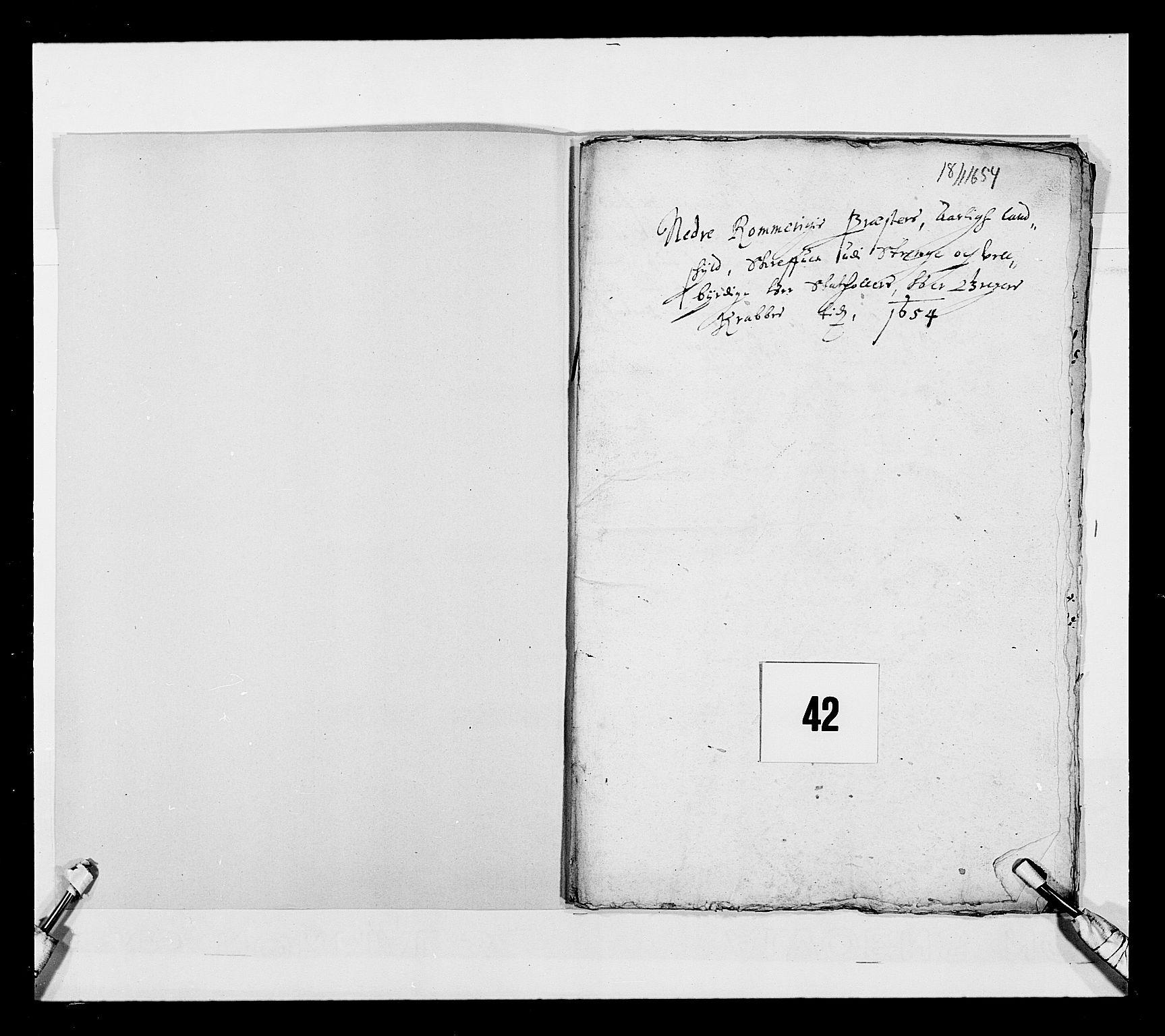 RA, Stattholderembetet 1572-1771, Ek/L0030: Jordebøker 1633-1658:, 1654, s. 199