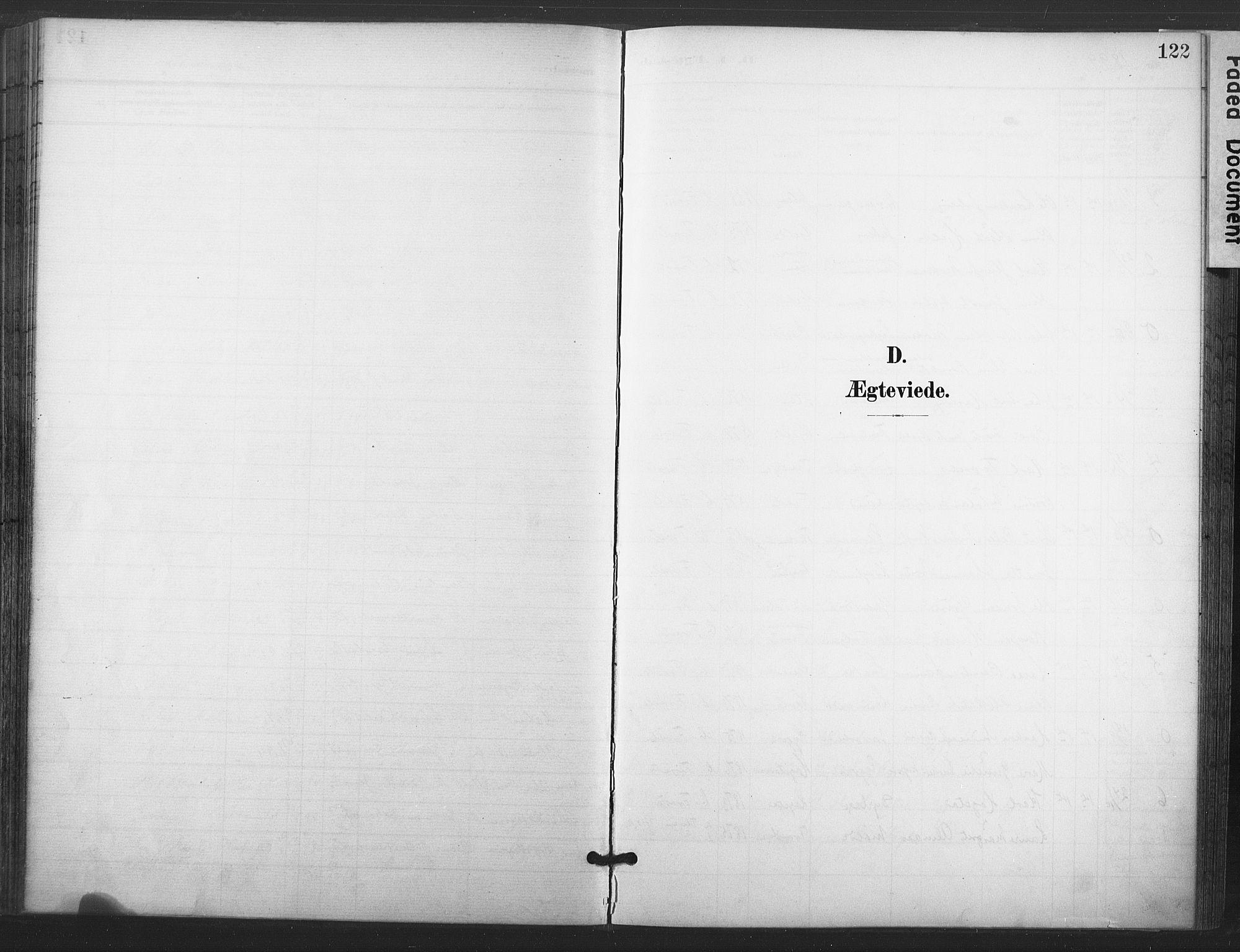 SAT, Ministerialprotokoller, klokkerbøker og fødselsregistre - Nord-Trøndelag, 713/L0122: Ministerialbok nr. 713A11, 1899-1910, s. 122