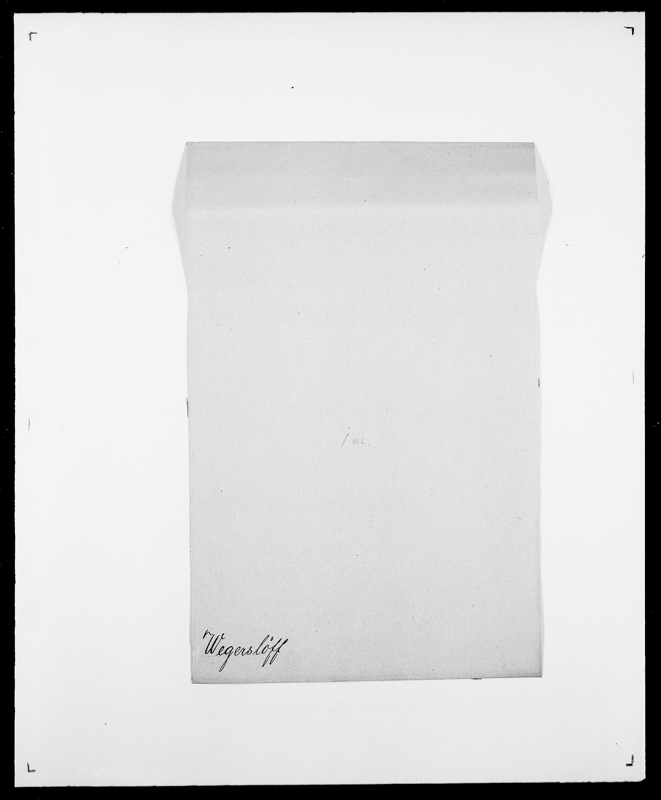 SAO, Delgobe, Charles Antoine - samling, D/Da/L0040: Usgaard - Velund, s. 498