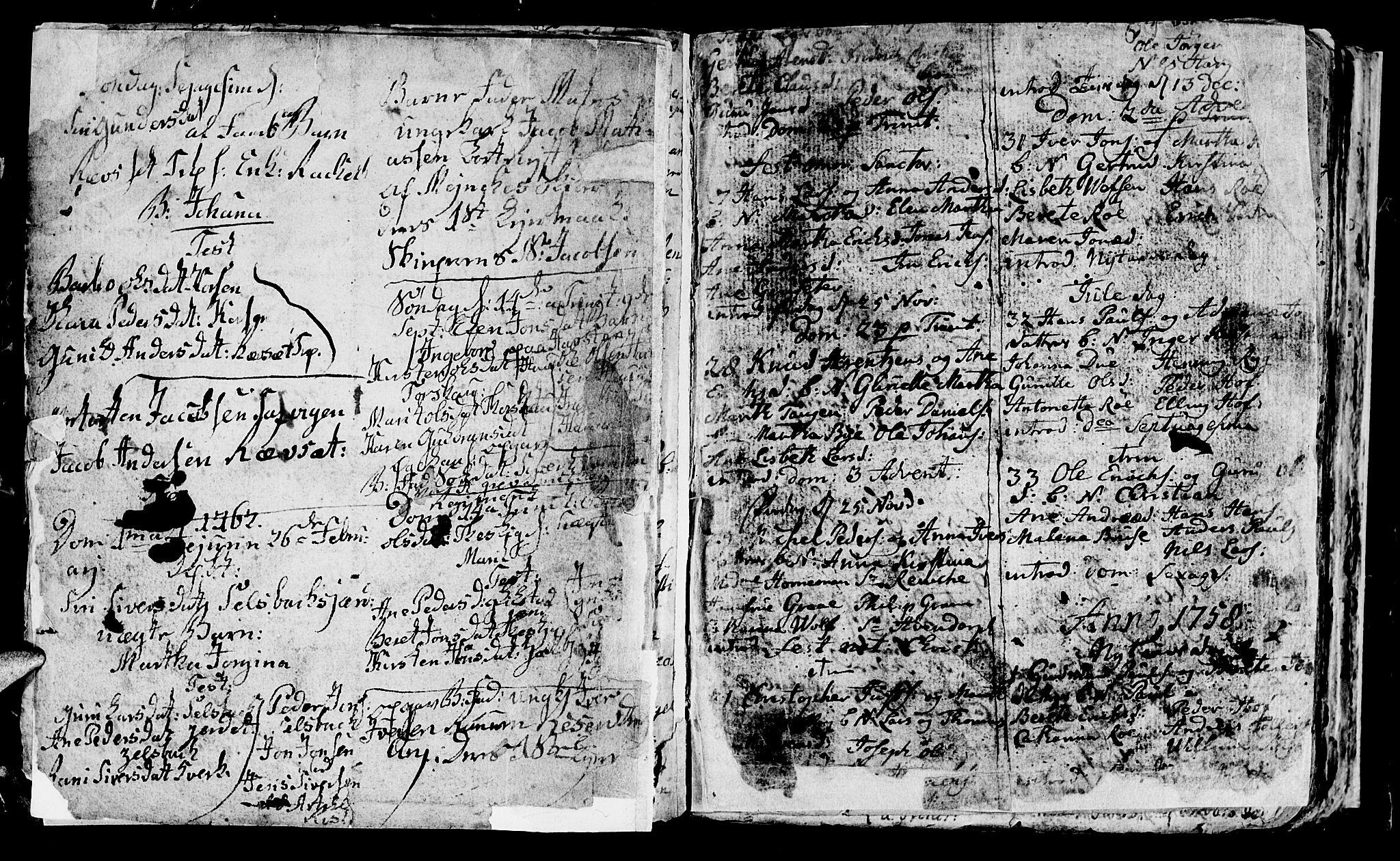 SAT, Ministerialprotokoller, klokkerbøker og fødselsregistre - Sør-Trøndelag, 604/L0218: Klokkerbok nr. 604C01, 1754-1819, s. 8