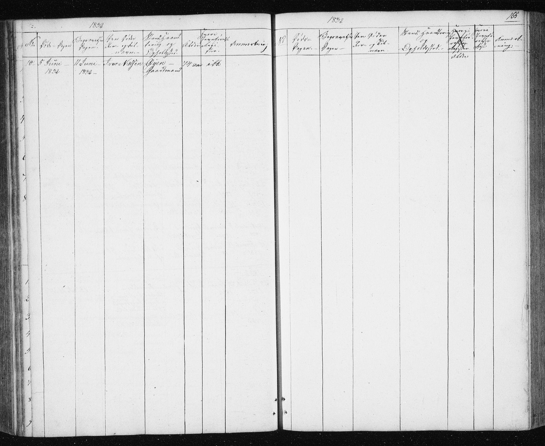 SAT, Ministerialprotokoller, klokkerbøker og fødselsregistre - Sør-Trøndelag, 687/L1017: Klokkerbok nr. 687C01, 1816-1837, s. 165