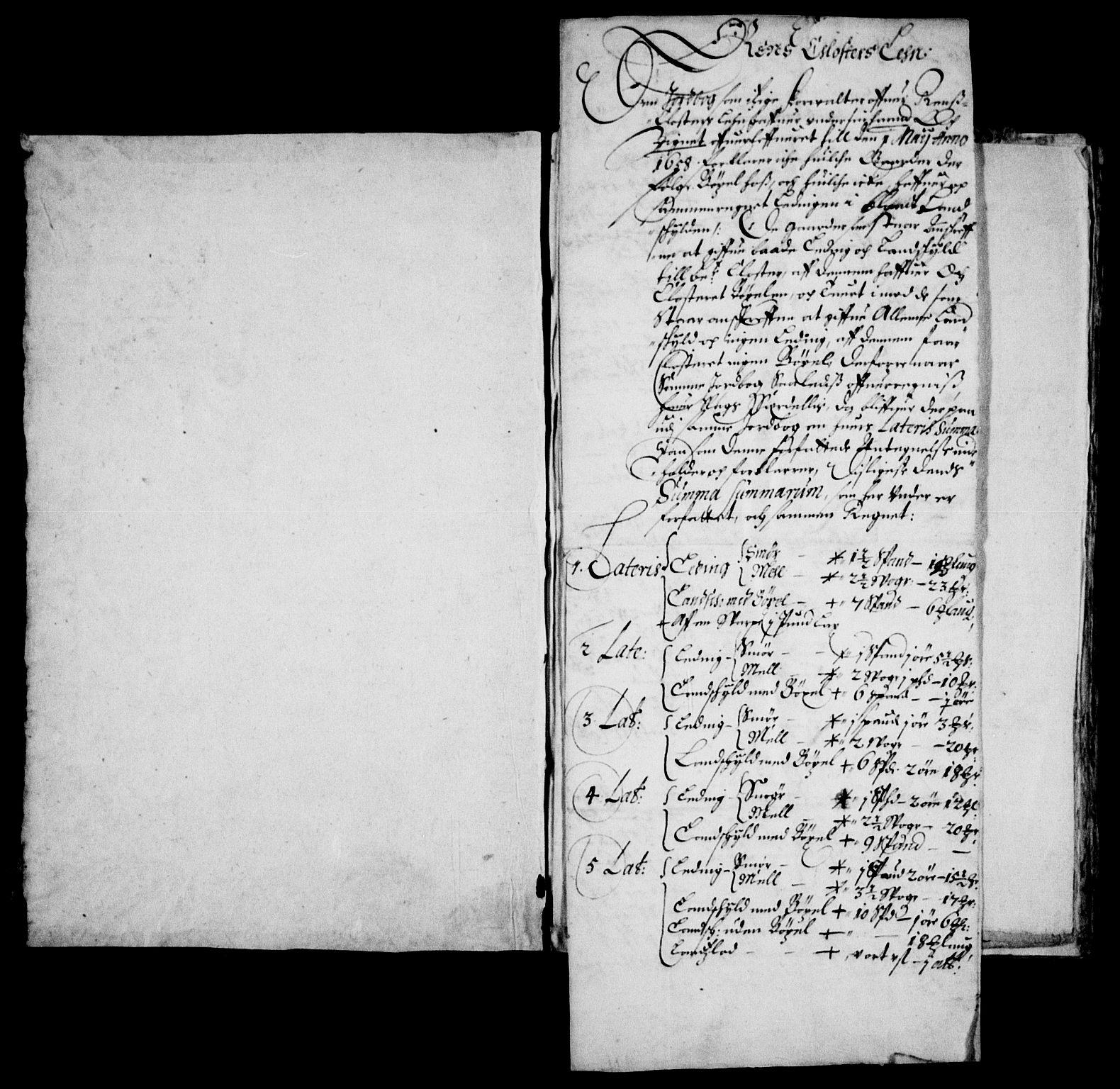 RA, Rentekammeret inntil 1814, Realistisk ordnet avdeling, On/L0006: [Jj 7]: Jordebøker og dokumenter over det sekulariserte kirke- og klostergodset:, 1658-1682, s. 99