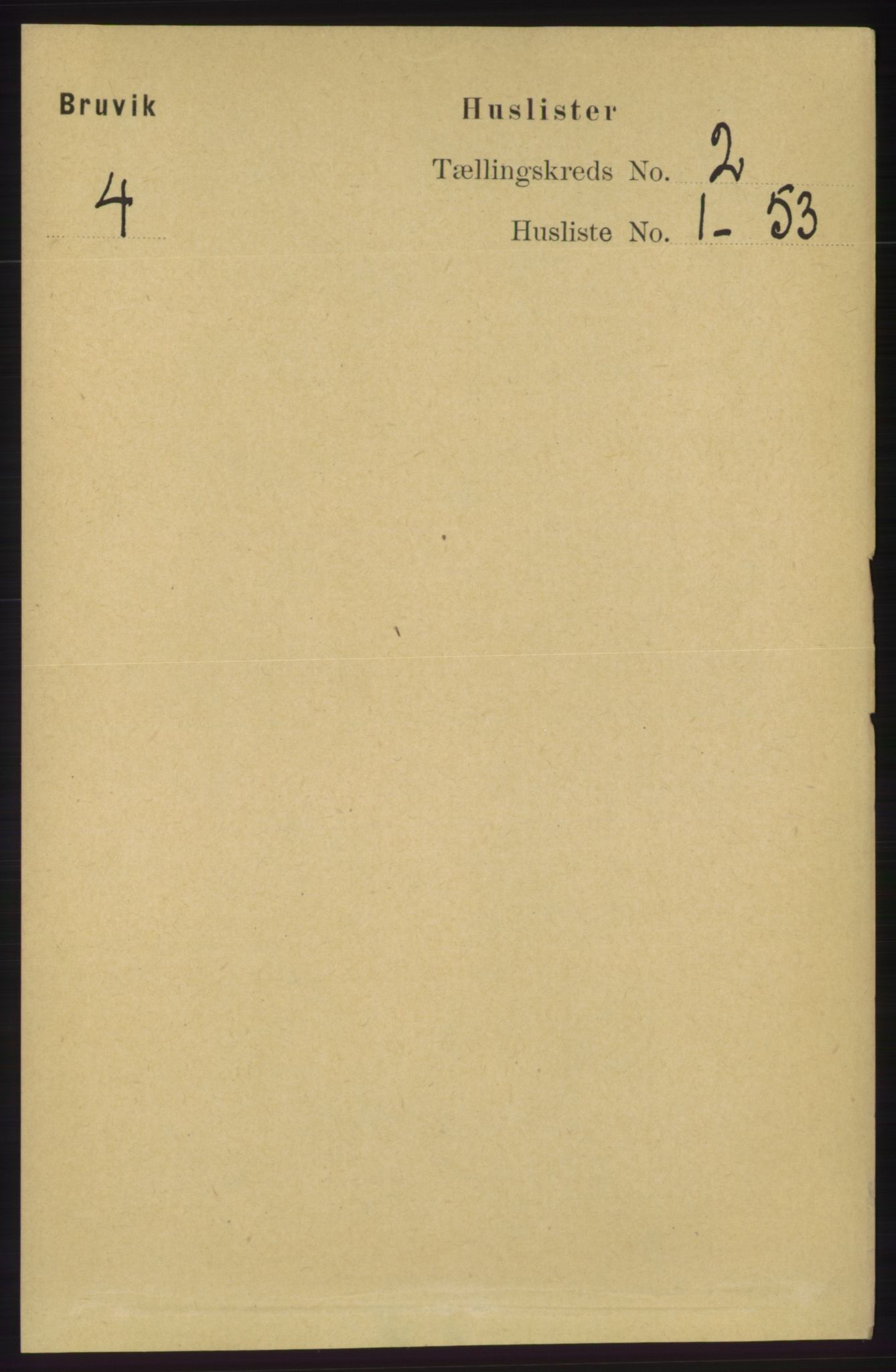 RA, Folketelling 1891 for 1251 Bruvik herred, 1891, s. 379