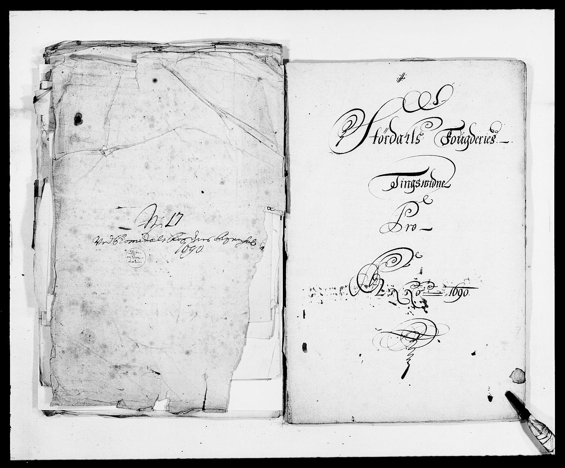RA, Rentekammeret inntil 1814, Reviderte regnskaper, Fogderegnskap, R62/L4184: Fogderegnskap Stjørdal og Verdal, 1690-1691, s. 208