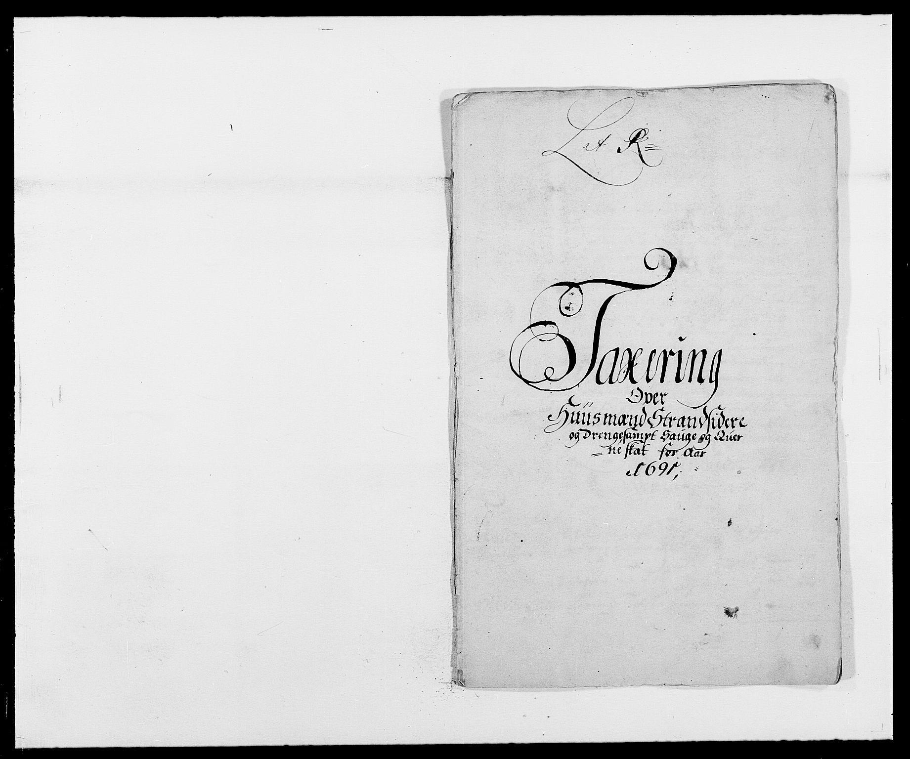 RA, Rentekammeret inntil 1814, Reviderte regnskaper, Fogderegnskap, R42/L2543: Mandal fogderi, 1688-1691, s. 255