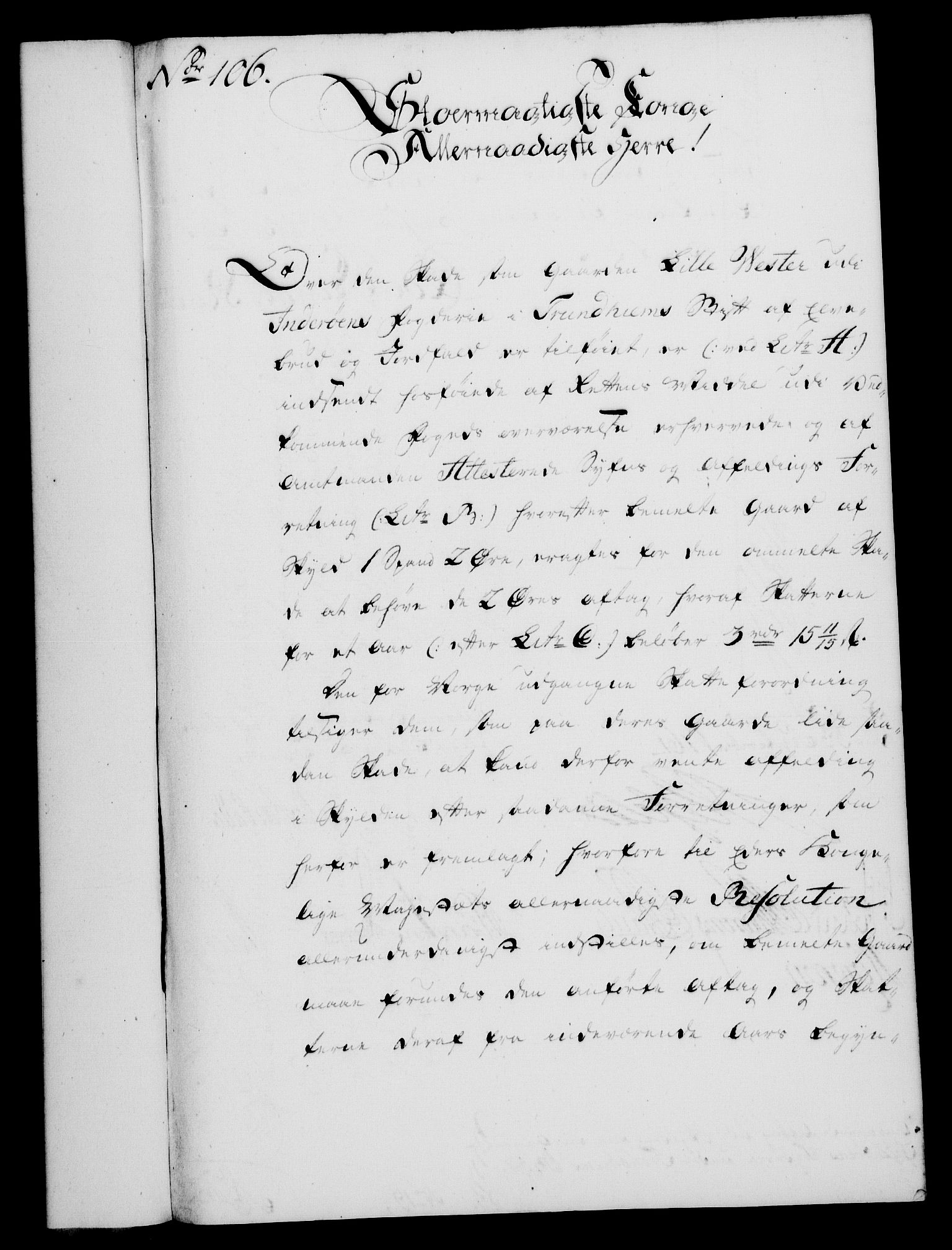 RA, Rentekammeret, Kammerkanselliet, G/Gf/Gfa/L0043: Norsk relasjons- og resolusjonsprotokoll (merket RK 52.43), 1761, s. 405