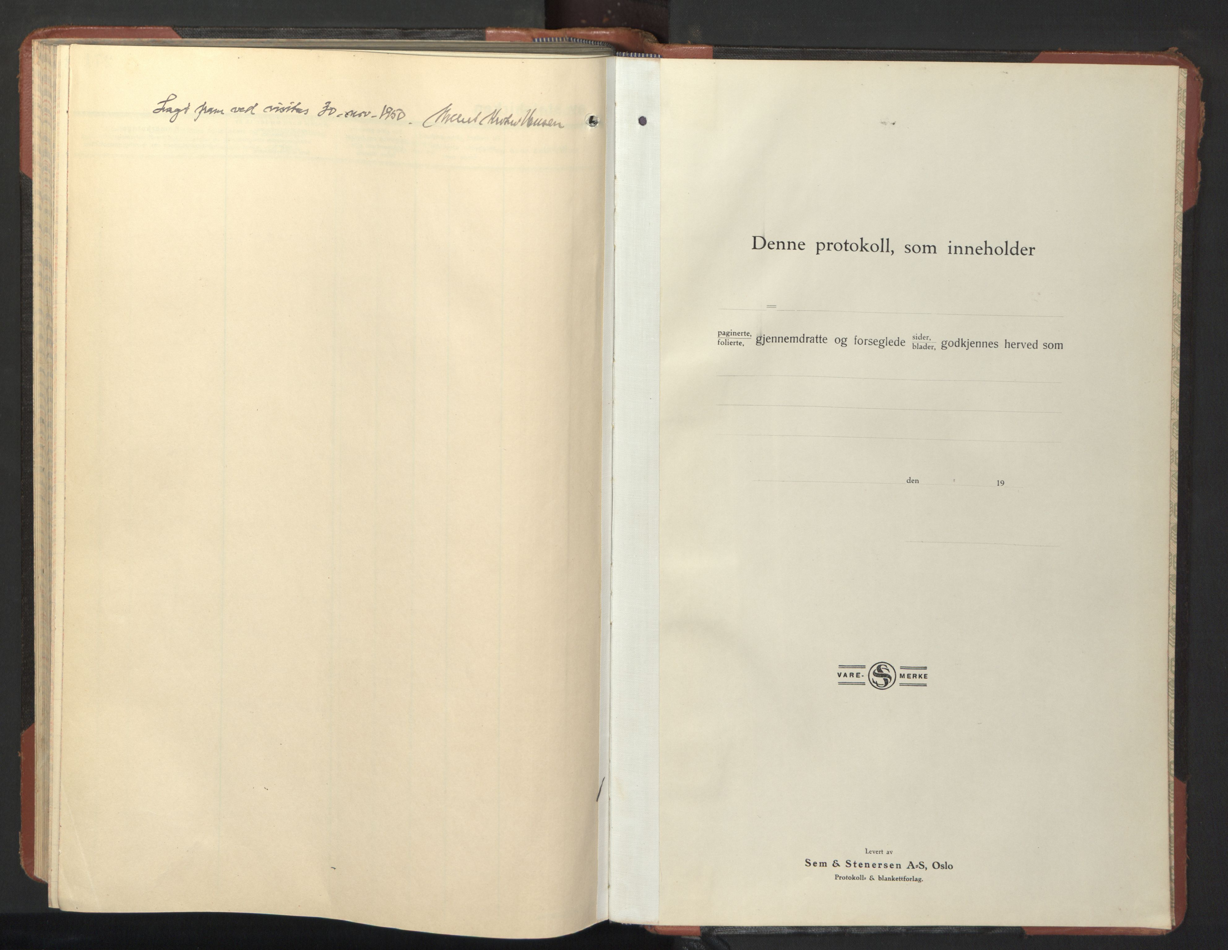 SAT, Ministerialprotokoller, klokkerbøker og fødselsregistre - Nordland, 801/L0038: Klokkerbok nr. 801C13, 1935-1951