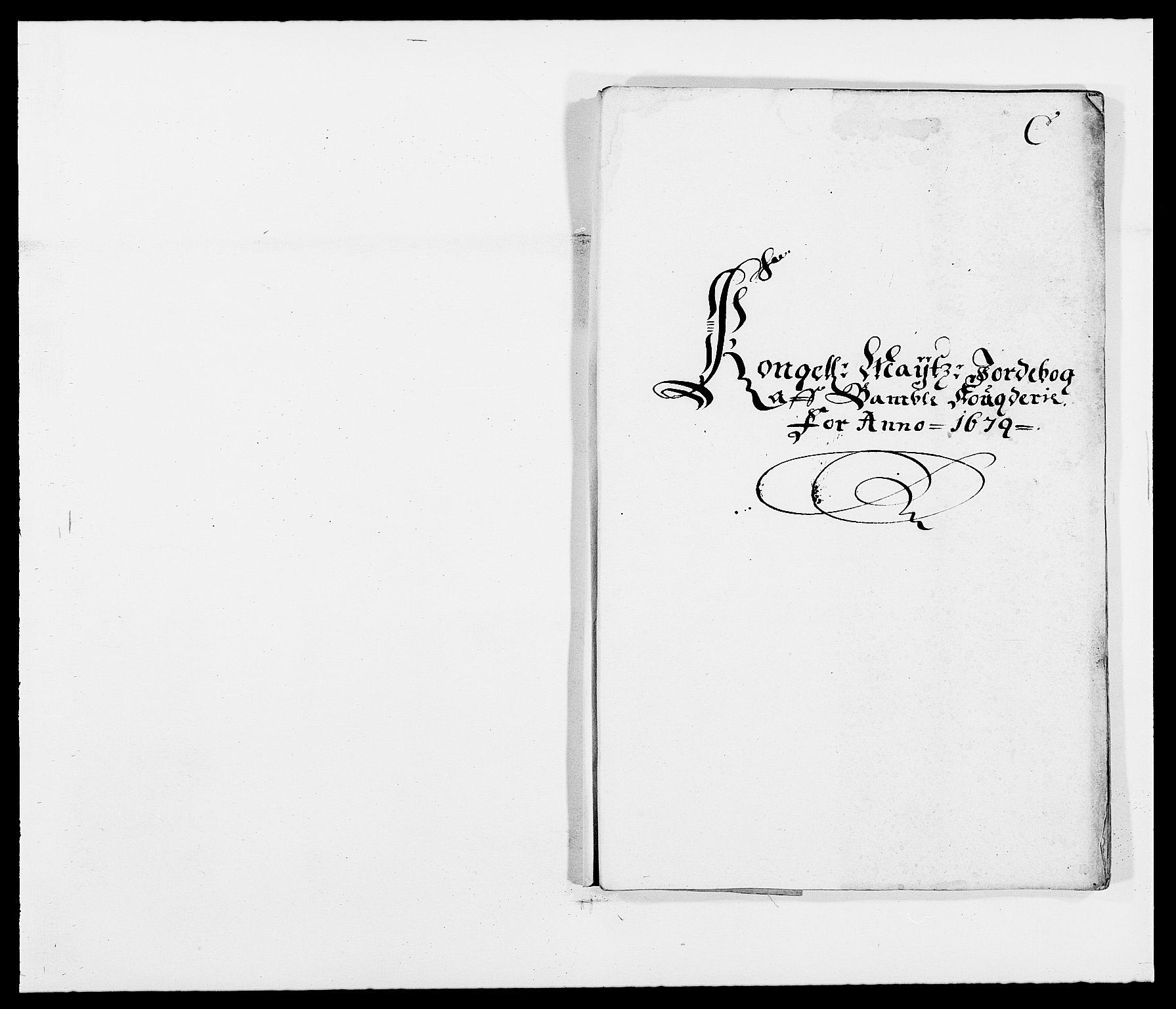 RA, Rentekammeret inntil 1814, Reviderte regnskaper, Fogderegnskap, R34/L2044: Fogderegnskap Bamble, 1678-1679, s. 305