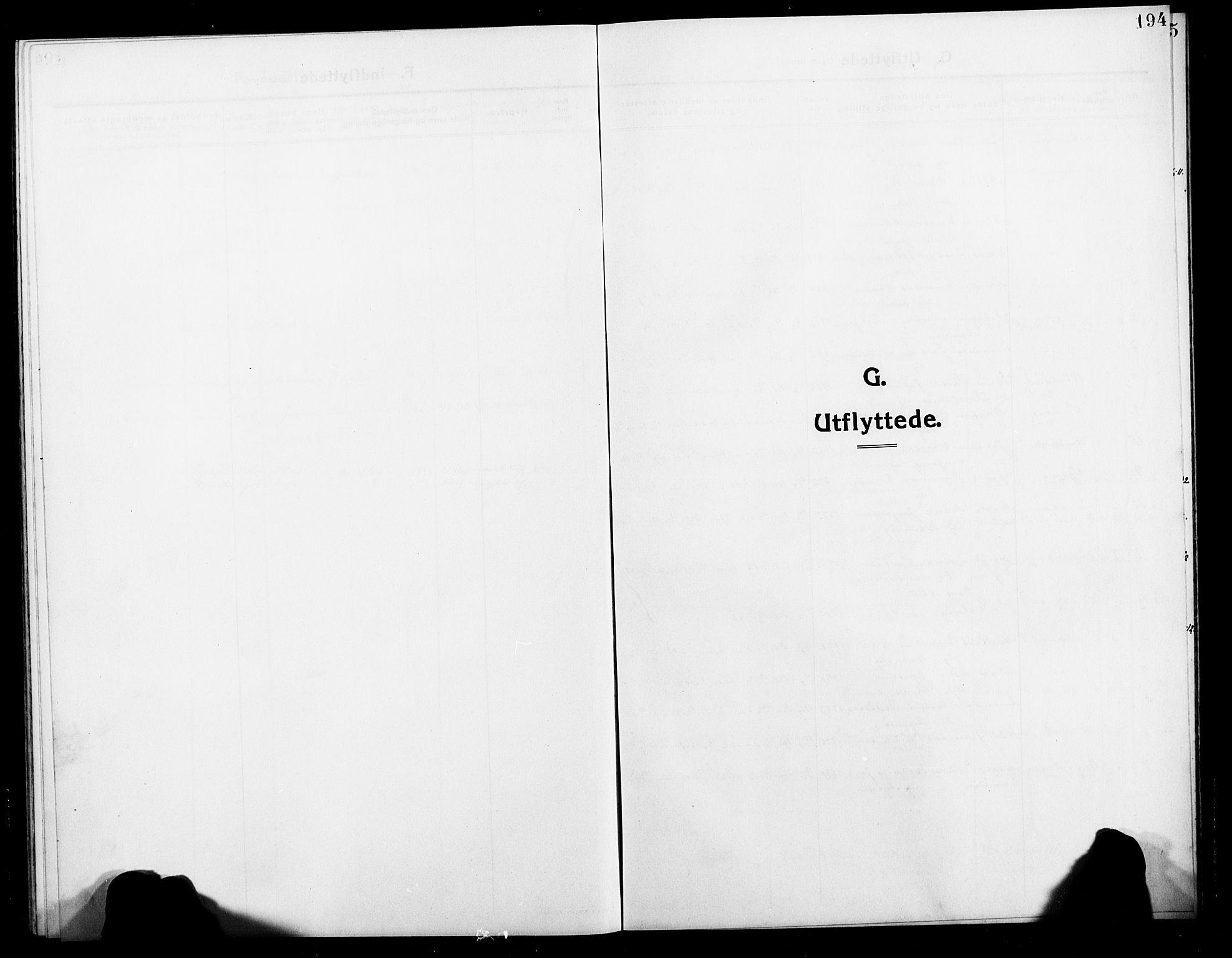SATØ, Balsfjord sokneprestembete, Klokkerbok nr. 4, 1910-1926, s. 194