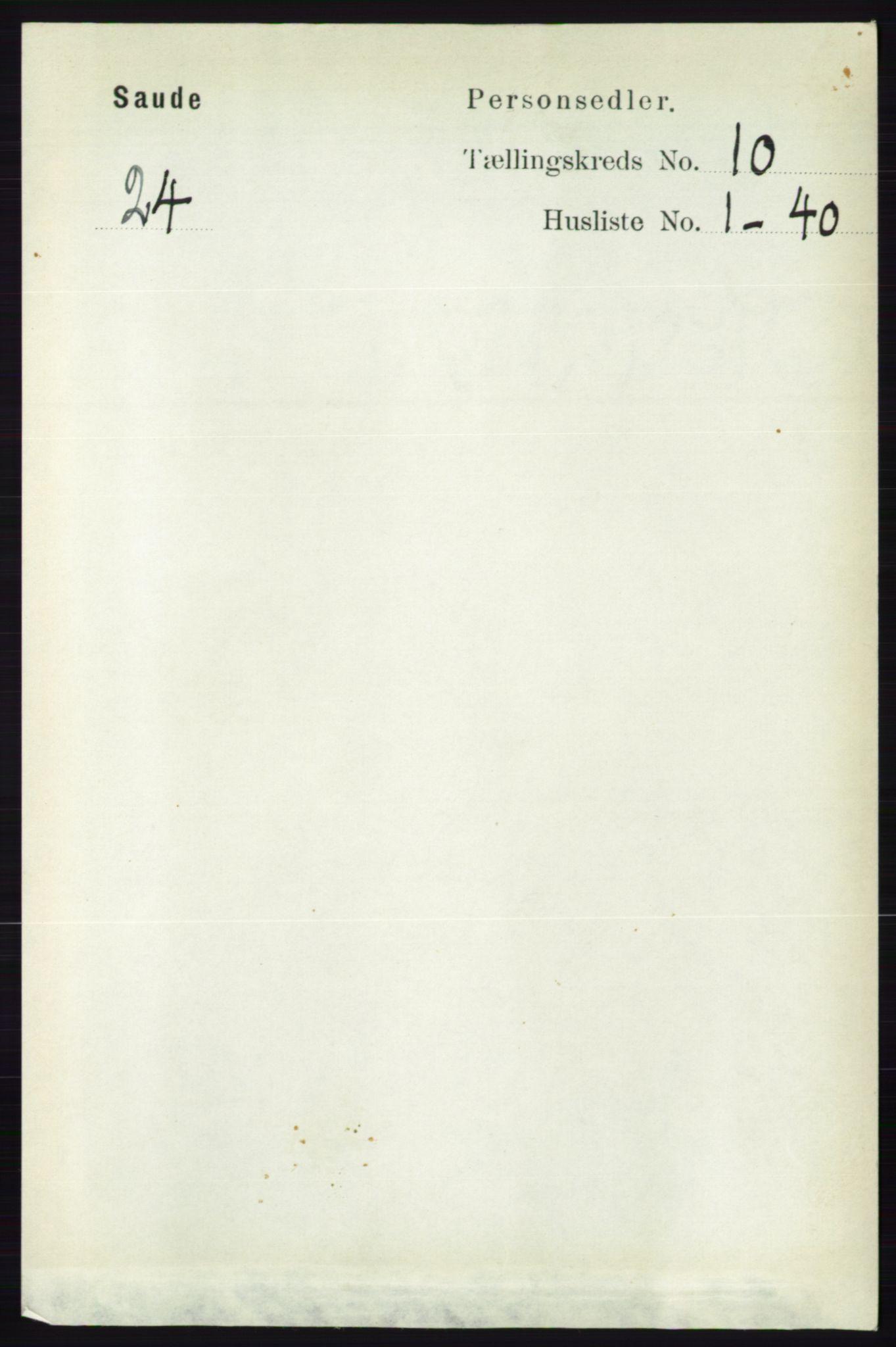 RA, Folketelling 1891 for 0822 Sauherad herred, 1891, s. 3002