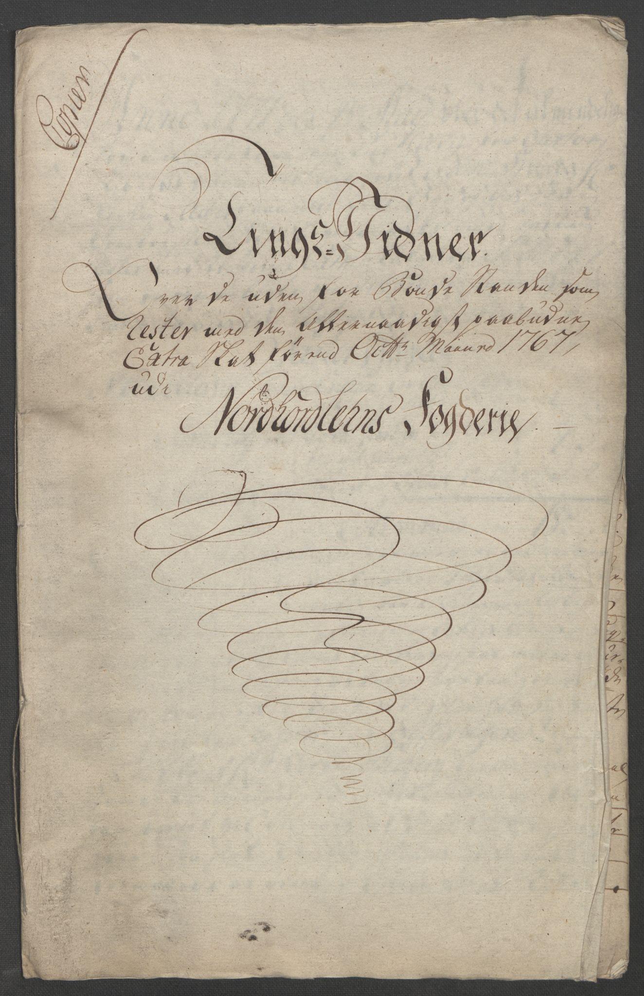 RA, Rentekammeret inntil 1814, Reviderte regnskaper, Fogderegnskap, R51/L3303: Ekstraskatten Nordhordland og Voss, 1762-1772, s. 547