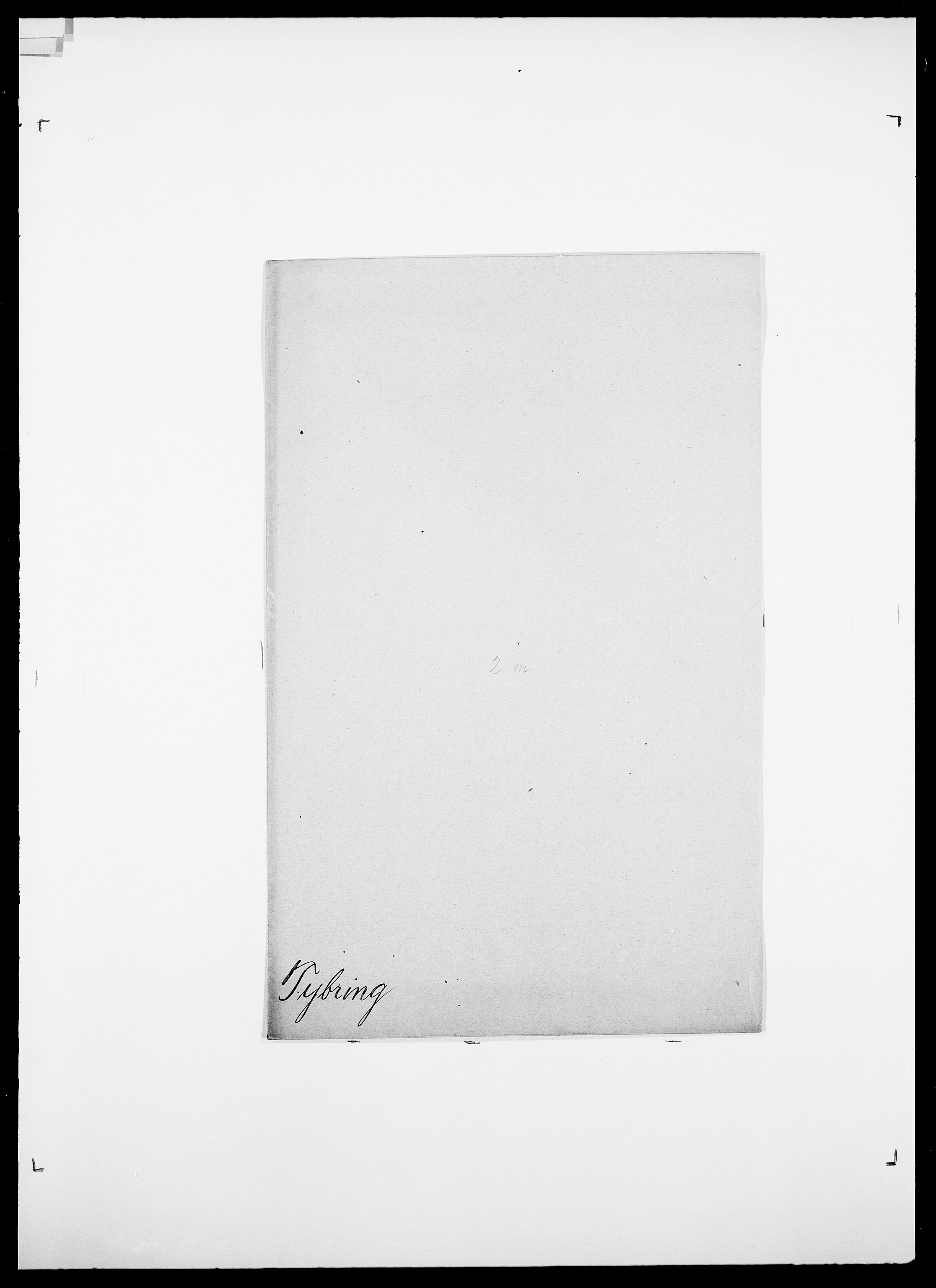 SAO, Delgobe, Charles Antoine - samling, D/Da/L0039: Thorsen - Urup, s. 501