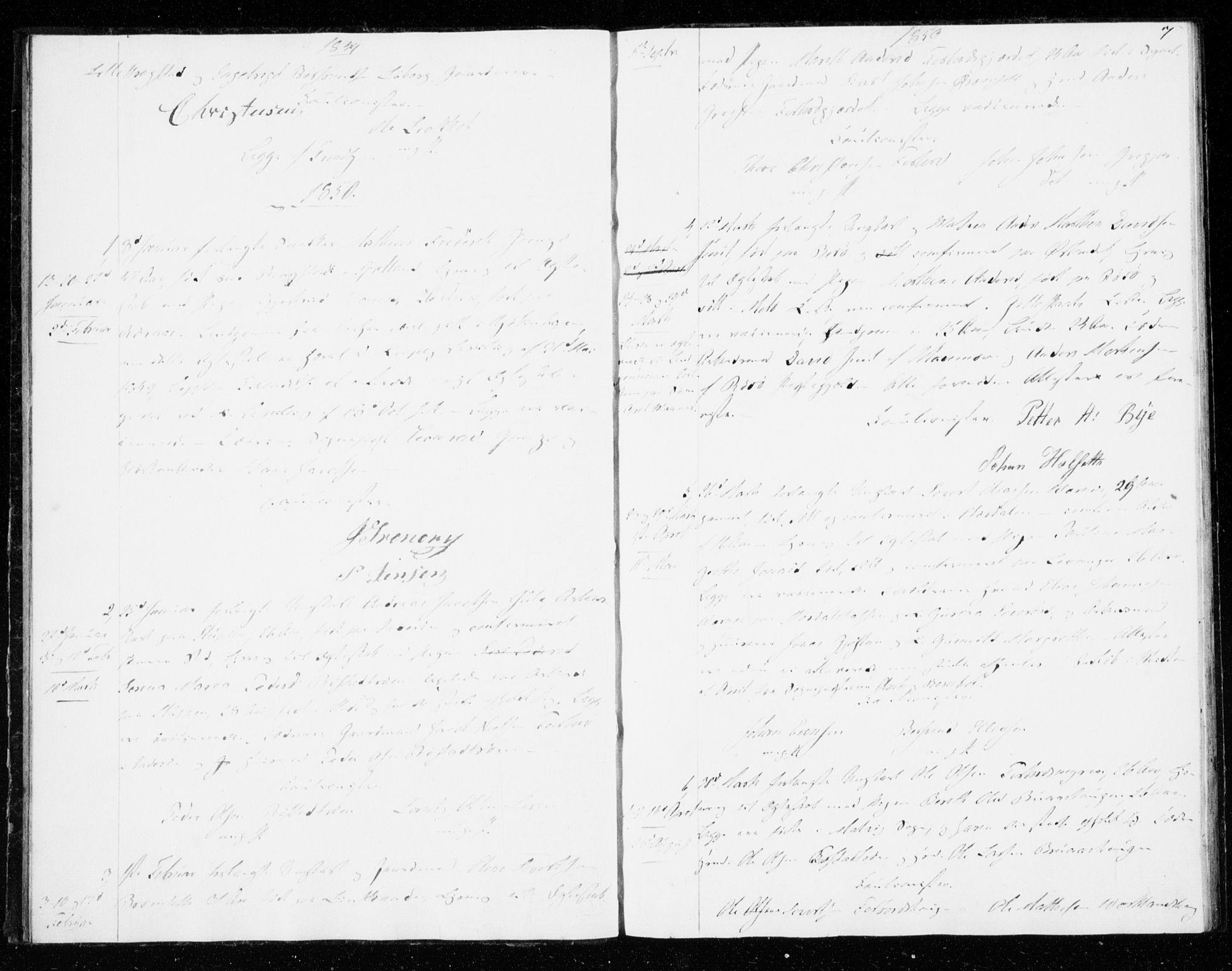 SAT, Ministerialprotokoller, klokkerbøker og fødselsregistre - Sør-Trøndelag, 606/L0296: Lysningsprotokoll nr. 606A11, 1849-1854, s. 7