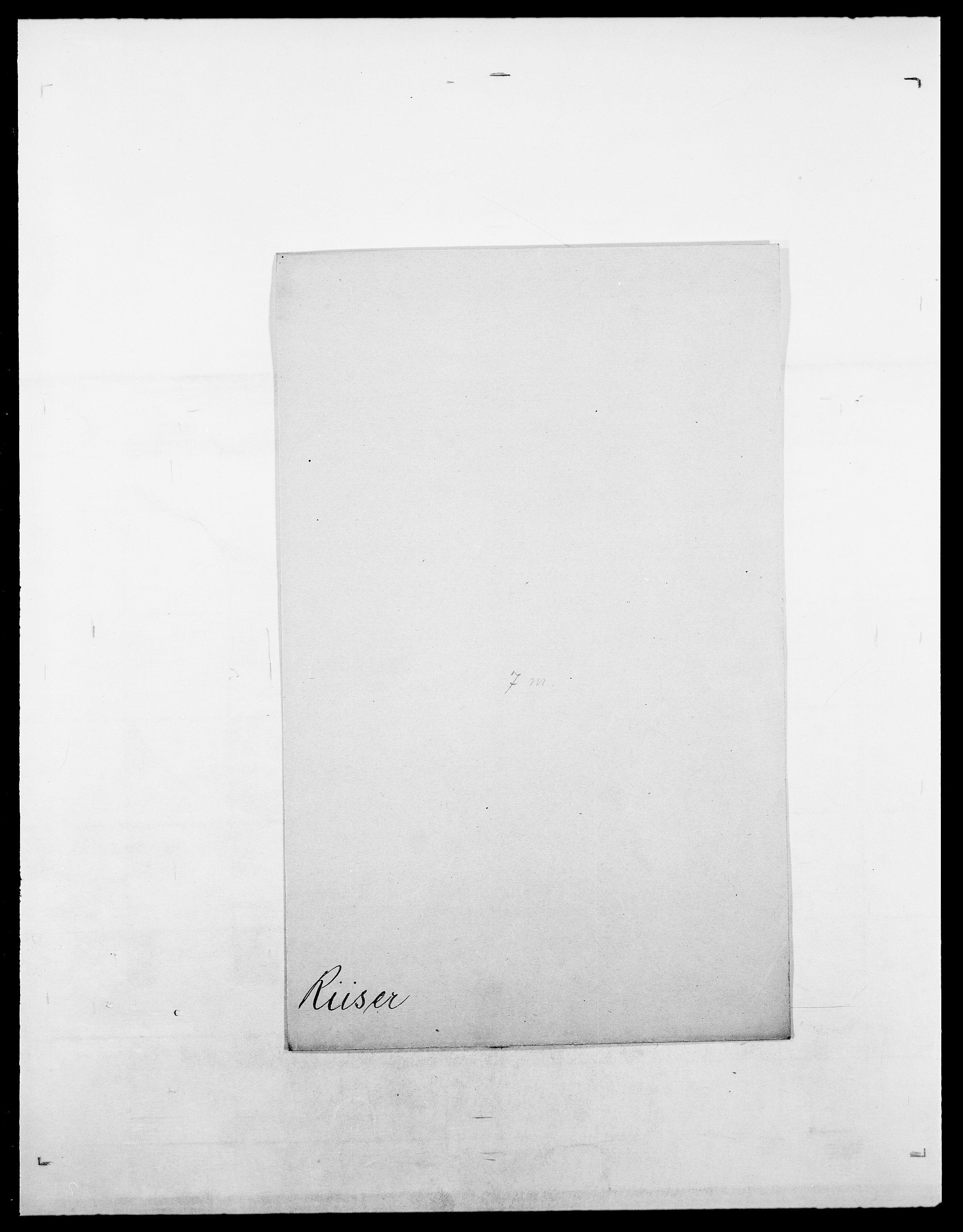 SAO, Delgobe, Charles Antoine - samling, D/Da/L0032: Rabakovsky - Rivertz, s. 664