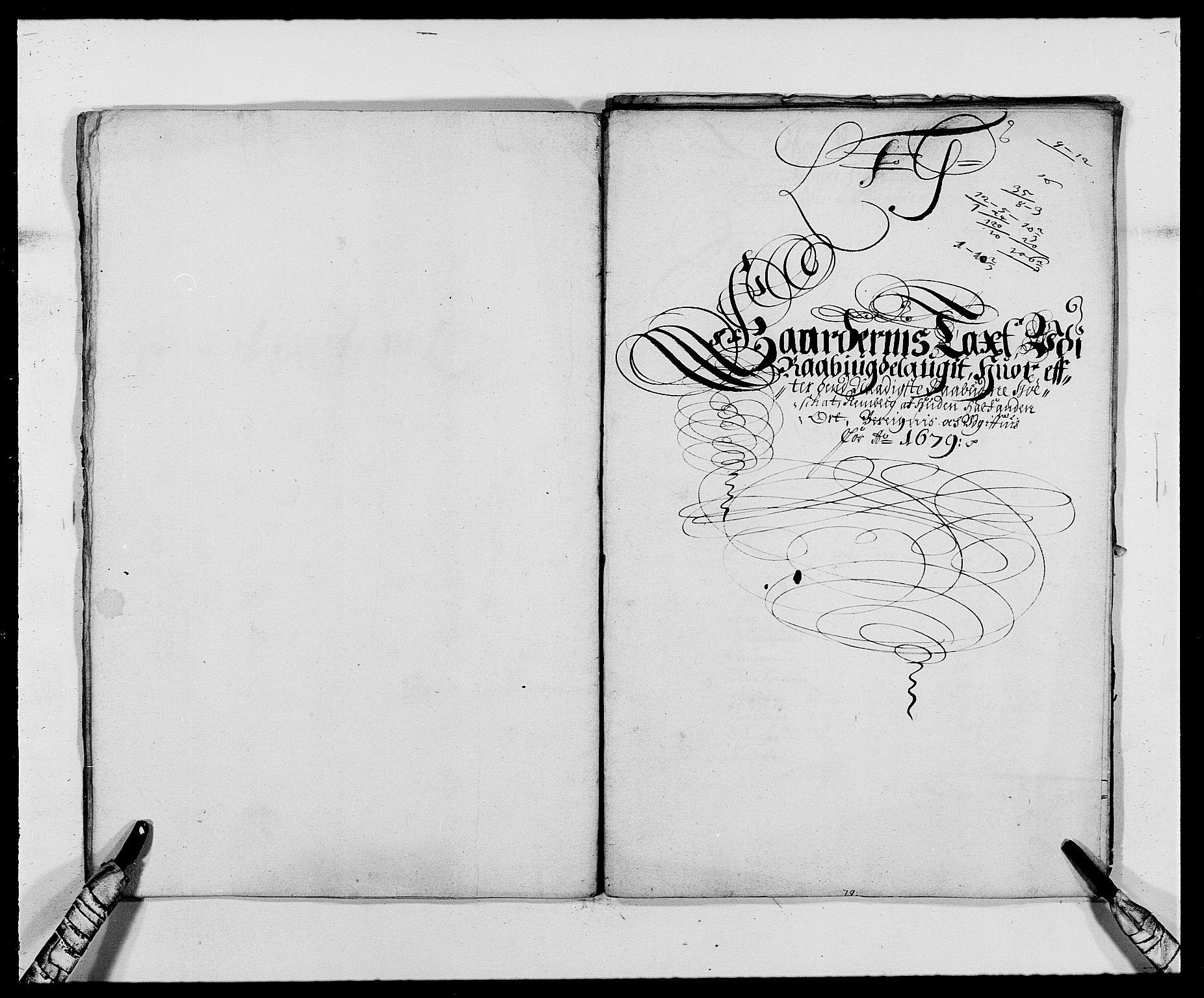RA, Rentekammeret inntil 1814, Reviderte regnskaper, Fogderegnskap, R40/L2436: Fogderegnskap Råbyggelag, 1679-1680, s. 77