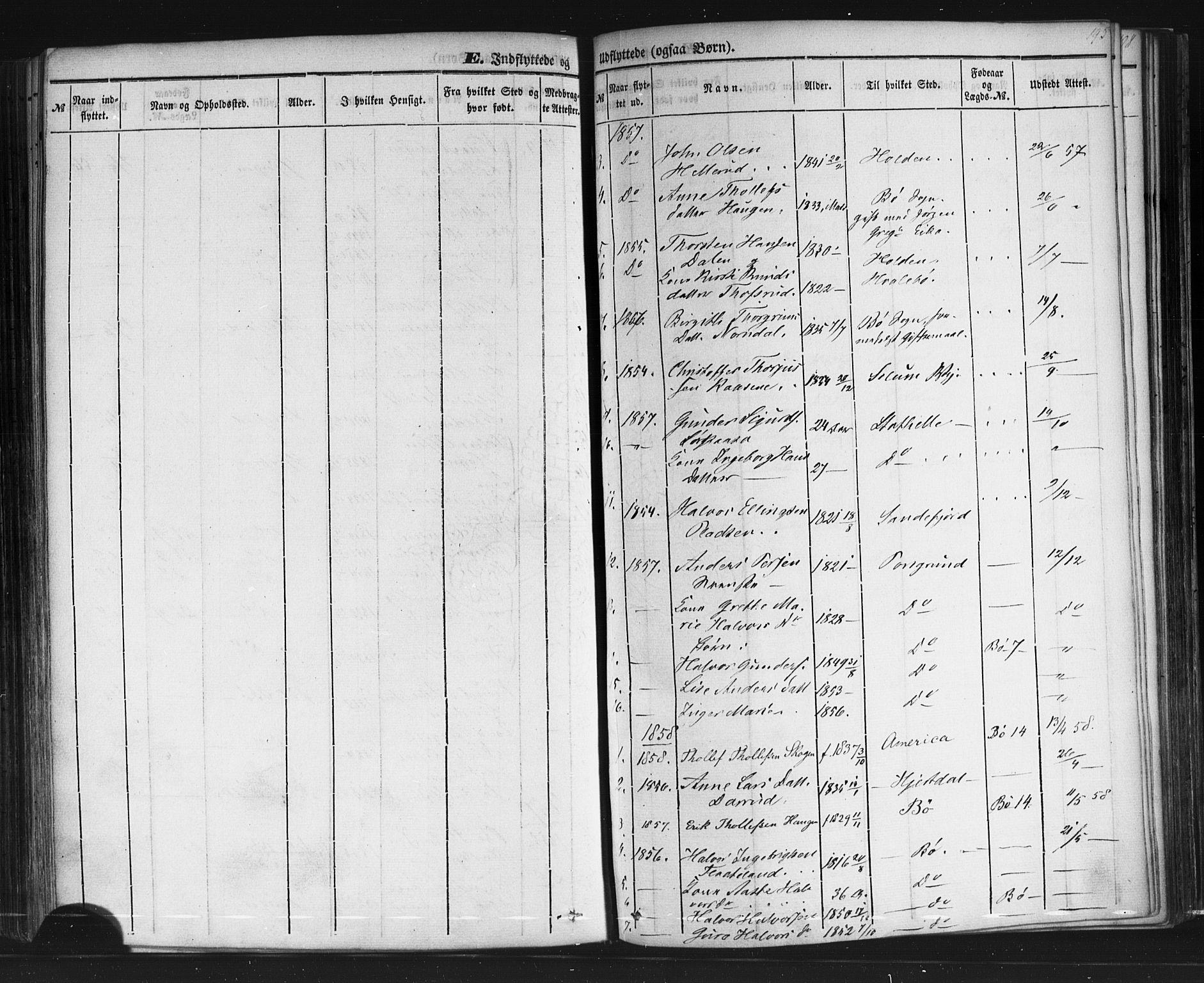 SAKO, Sauherad kirkebøker, F/Fb/L0001: Ministerialbok nr. II 1, 1851-1877, s. 195