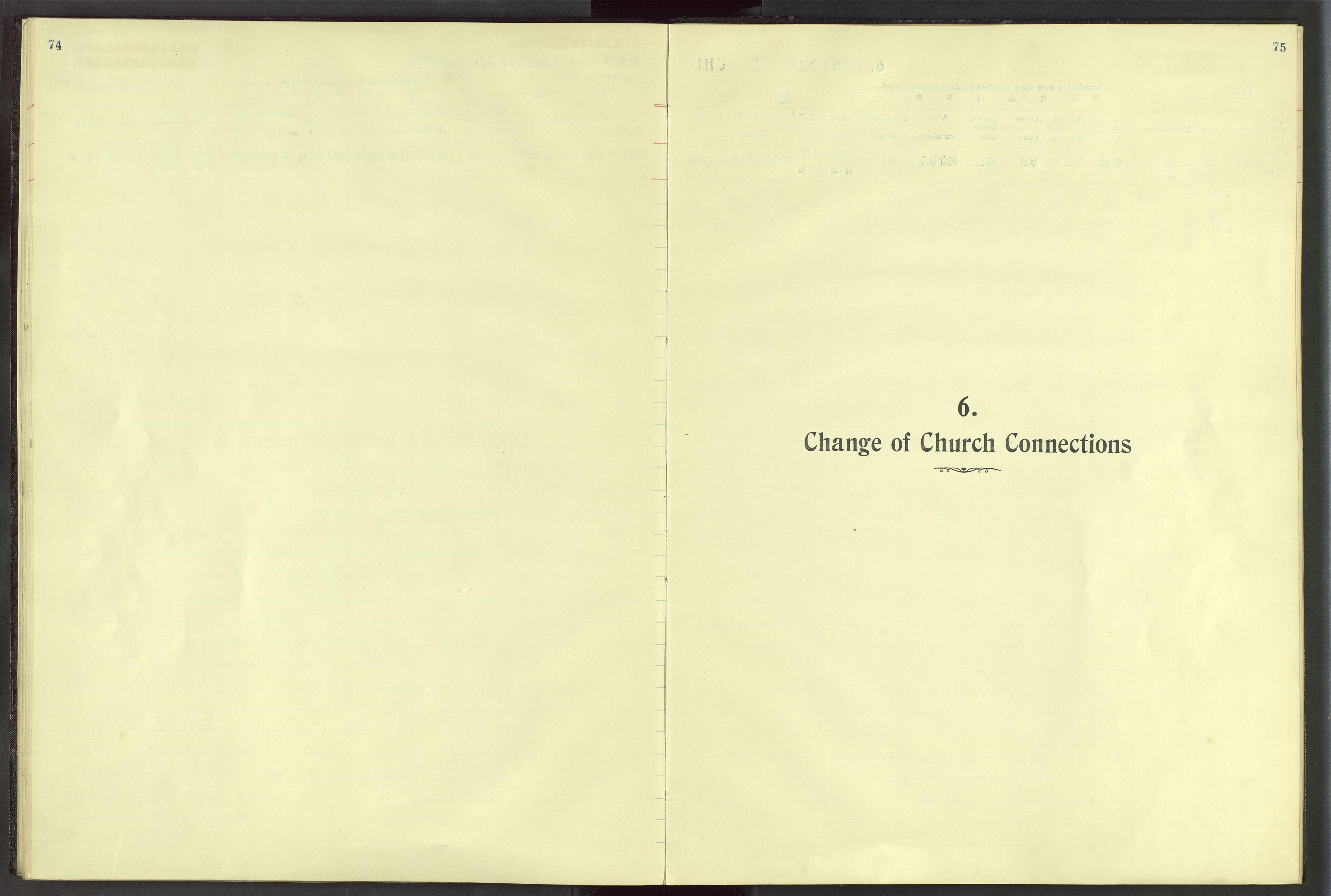 VID, Det Norske Misjonsselskap - utland - Kina (Hunan), Dm/L0024: Ministerialbok nr. 62, 1931-1948, s. 74-75