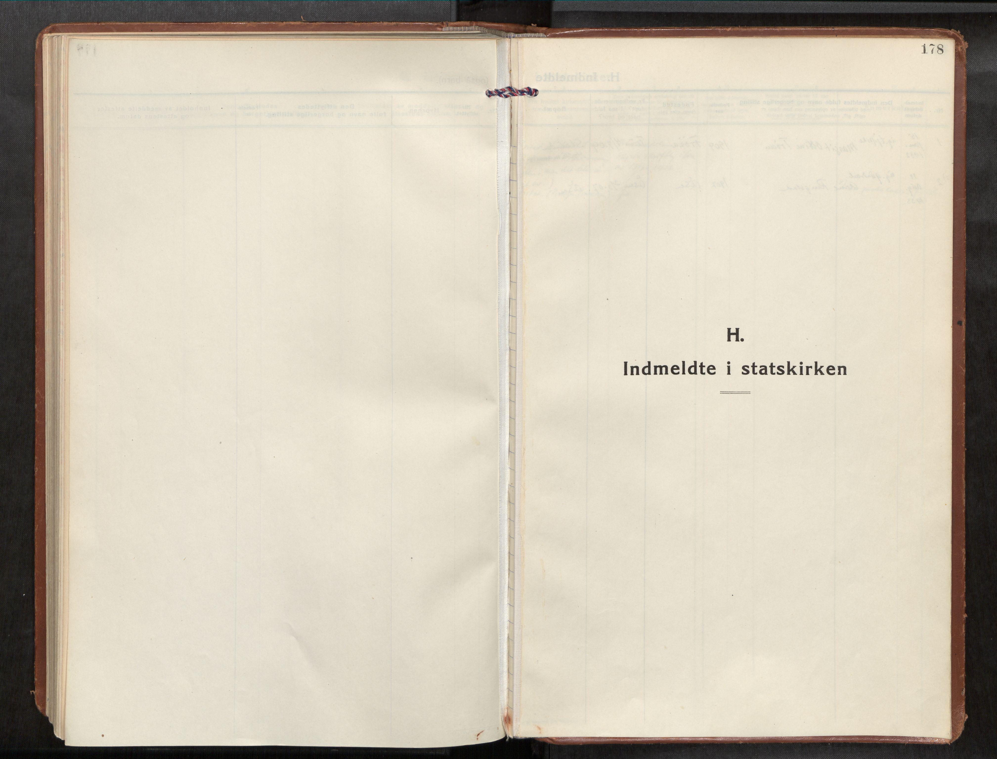 SAT, Frosta sokneprestkontor, H/Haa/L0001: Ministerialbok nr. 1, 1926-1934, s. 178