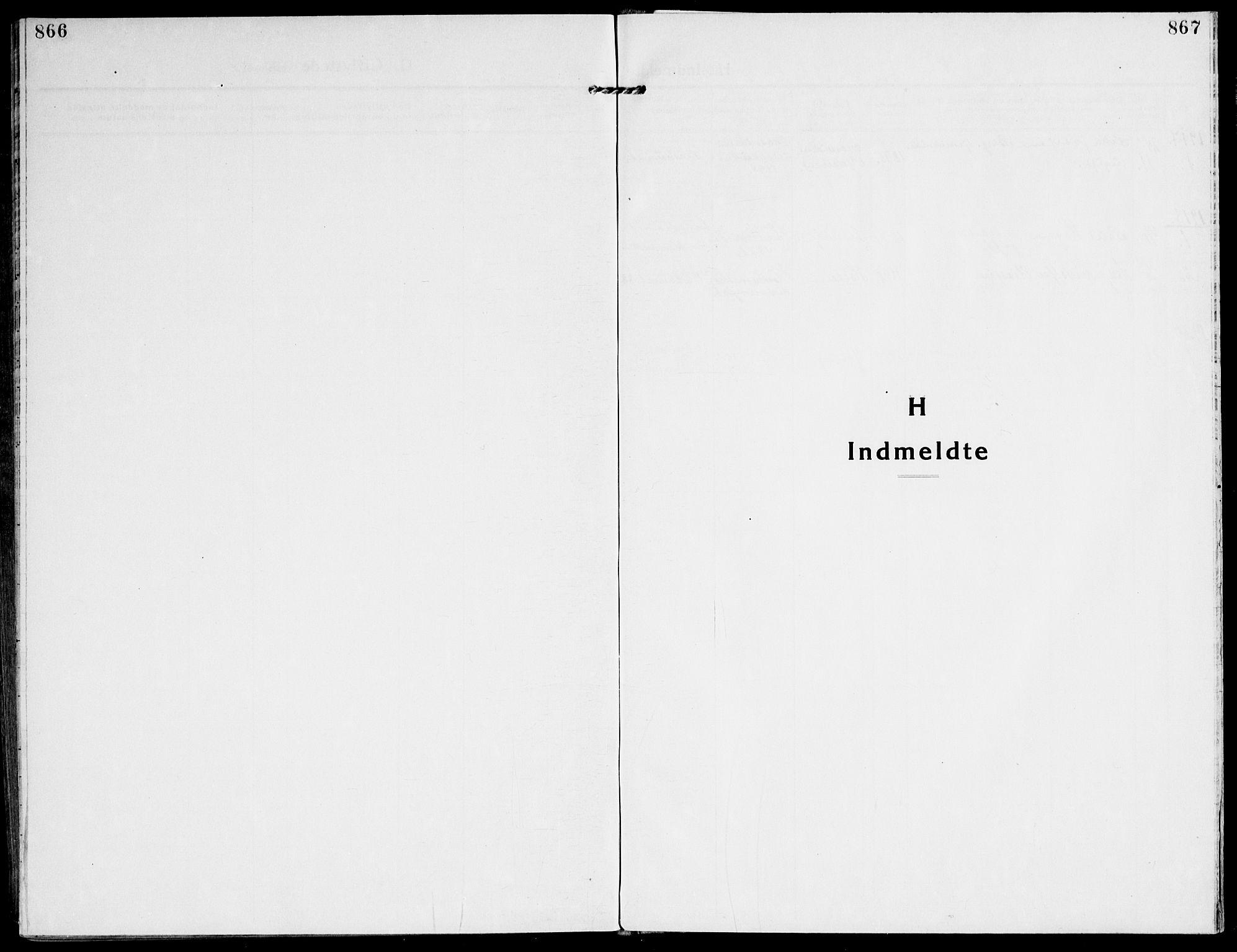 SAT, Ministerialprotokoller, klokkerbøker og fødselsregistre - Sør-Trøndelag, 607/L0321: Ministerialbok nr. 607A05, 1916-1935, s. 866-867