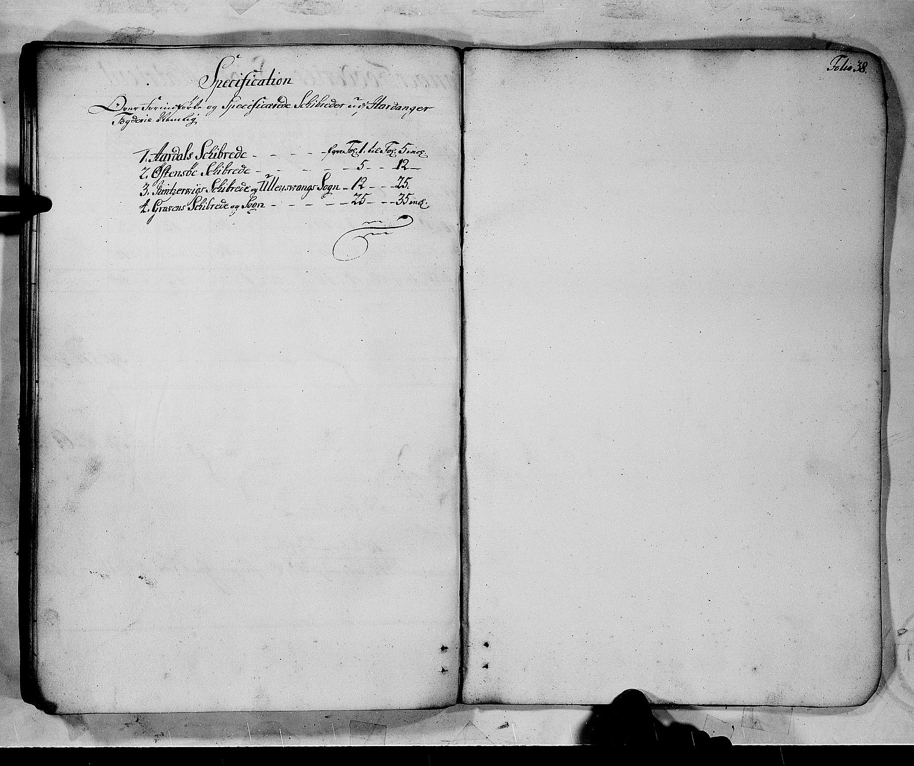 RA, Rentekammeret inntil 1814, Realistisk ordnet avdeling, N/Nb/Nbf/L0137: Hardanger matrikkelprotokoll, 1723, s. upaginert