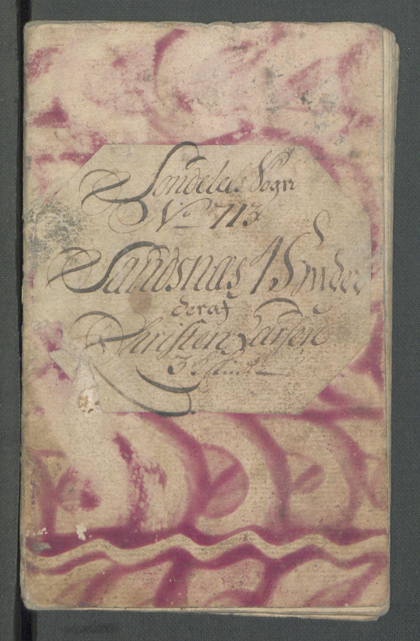 RA, Rentekammeret inntil 1814, Realistisk ordnet avdeling, Od/L0001: Oppløp, 1786-1769, s. 291