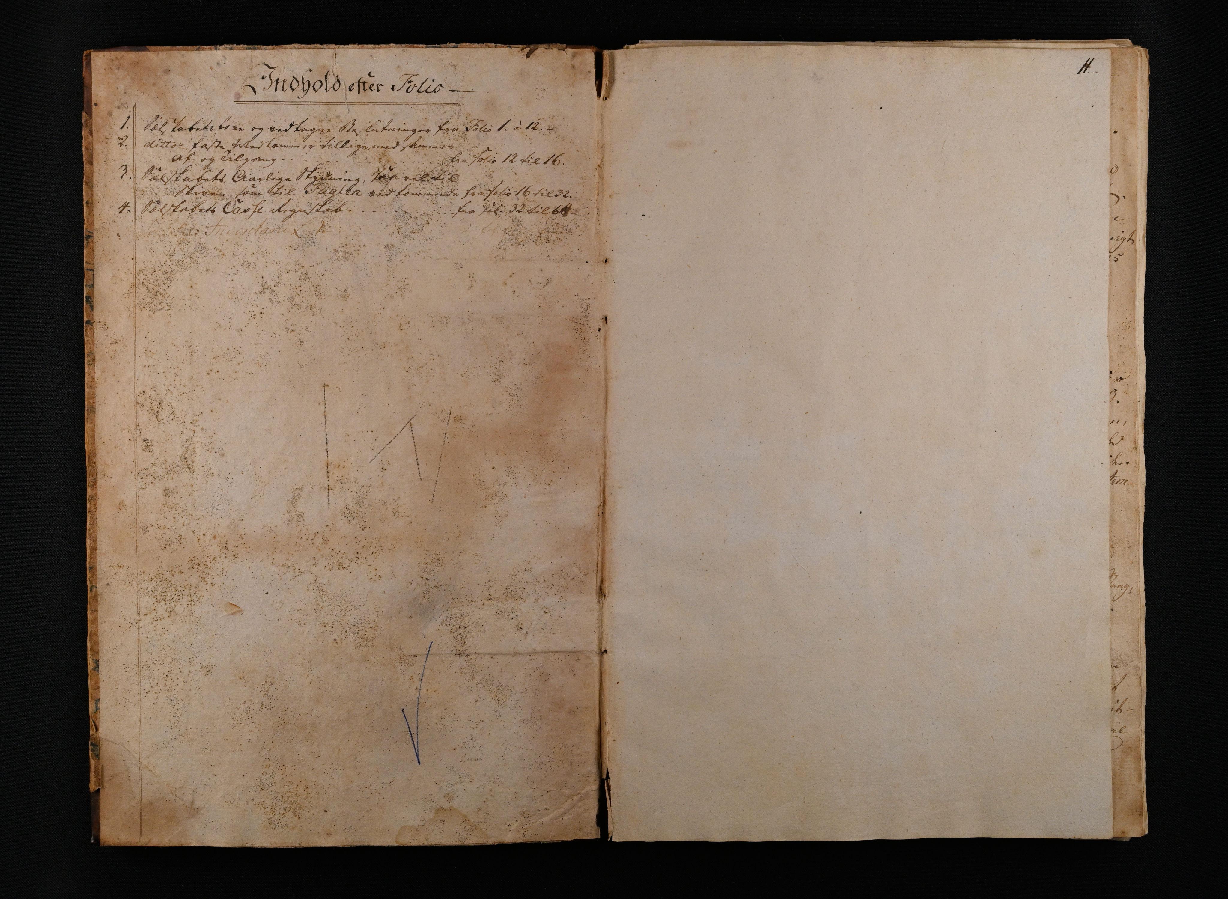 IKAO, Moss skytselskap, A/Aa/L0001: Møtebok med regnskap, 1801-1806, 1801-1806