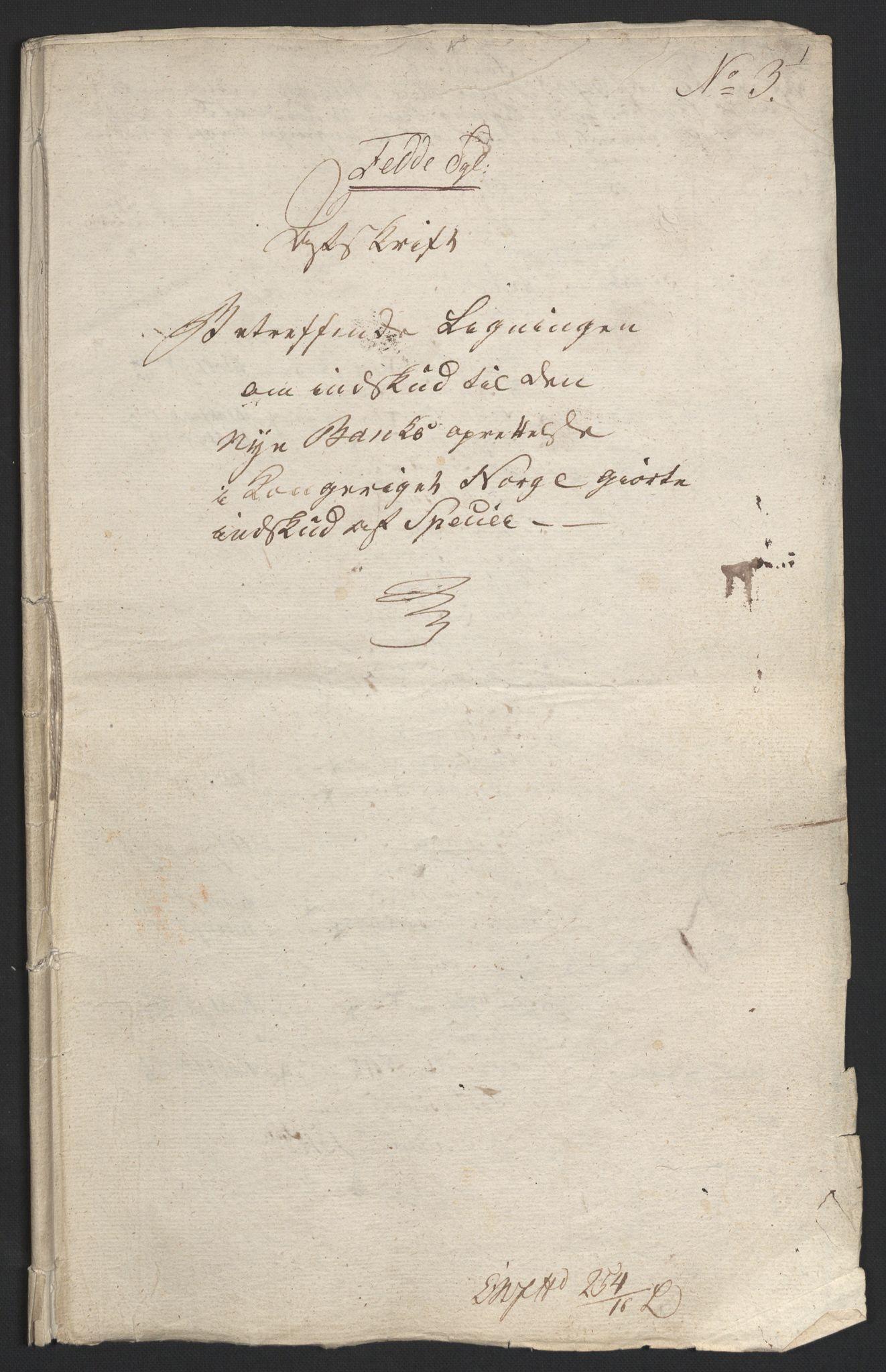NOBA, Norges Bank/Sølvskatten 1816*, 1816-1822, s. 64