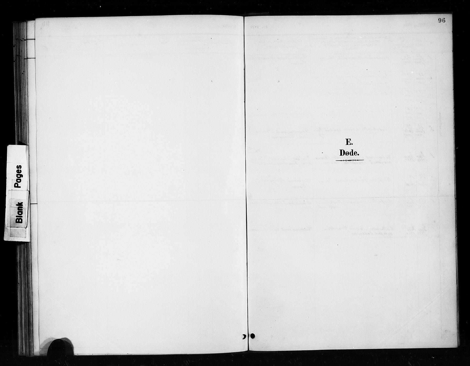 SAB, Nykirken Sokneprestembete, H/Haa: Ministerialbok nr. H 2, 1887-1897, s. 96