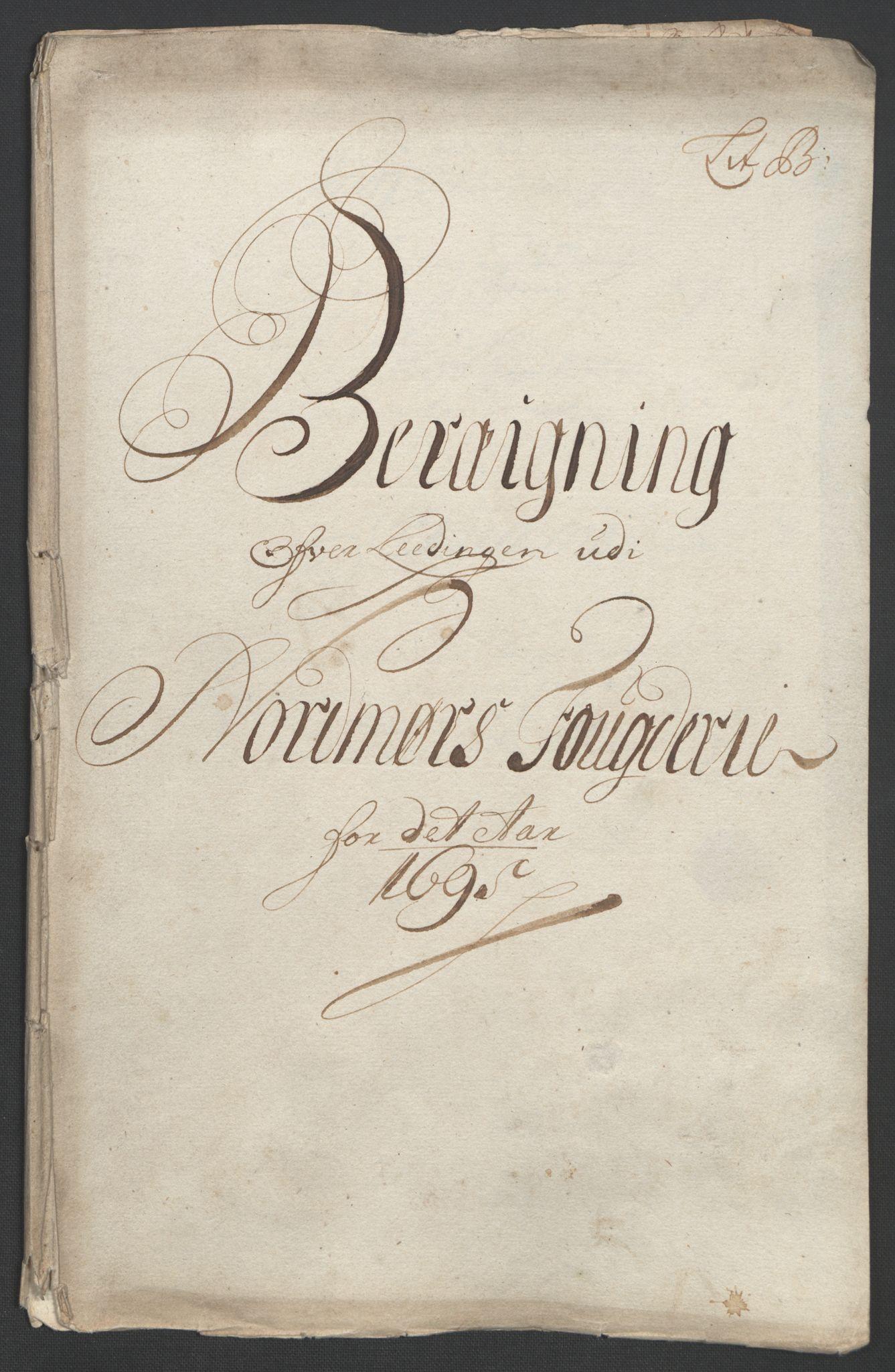 RA, Rentekammeret inntil 1814, Reviderte regnskaper, Fogderegnskap, R56/L3736: Fogderegnskap Nordmøre, 1694-1696, s. 245