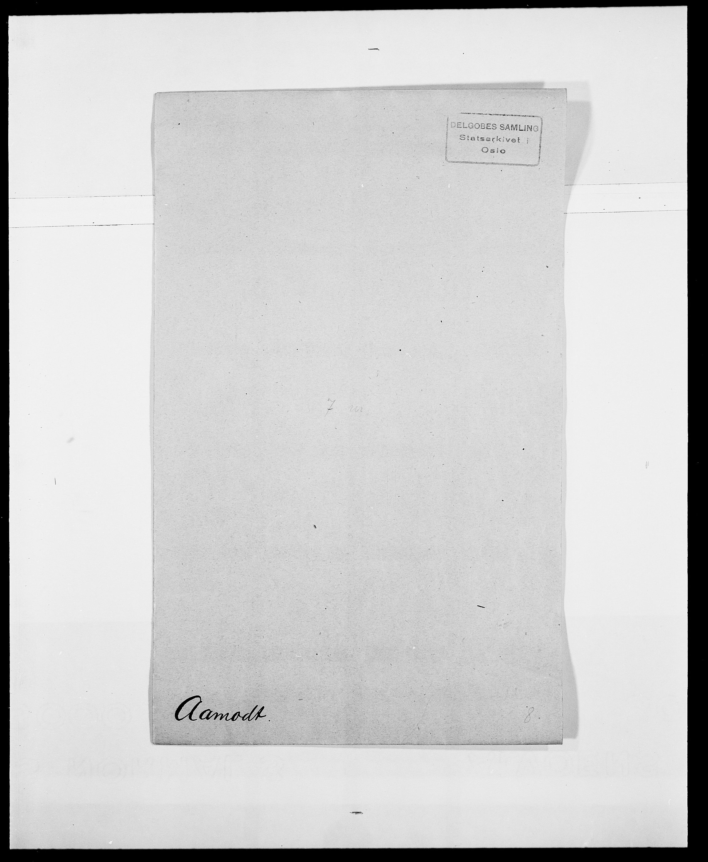 SAO, Delgobe, Charles Antoine - samling, D/Da/L0001: Aabye - Angerman, s. 66