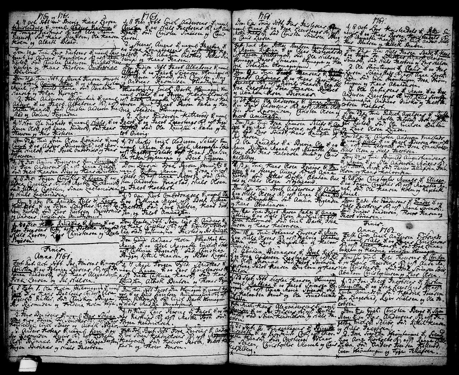 SAKO, Brevik kirkebøker, F/Fa/L0002: Ministerialbok nr. 2, 1720-1764, s. 35h