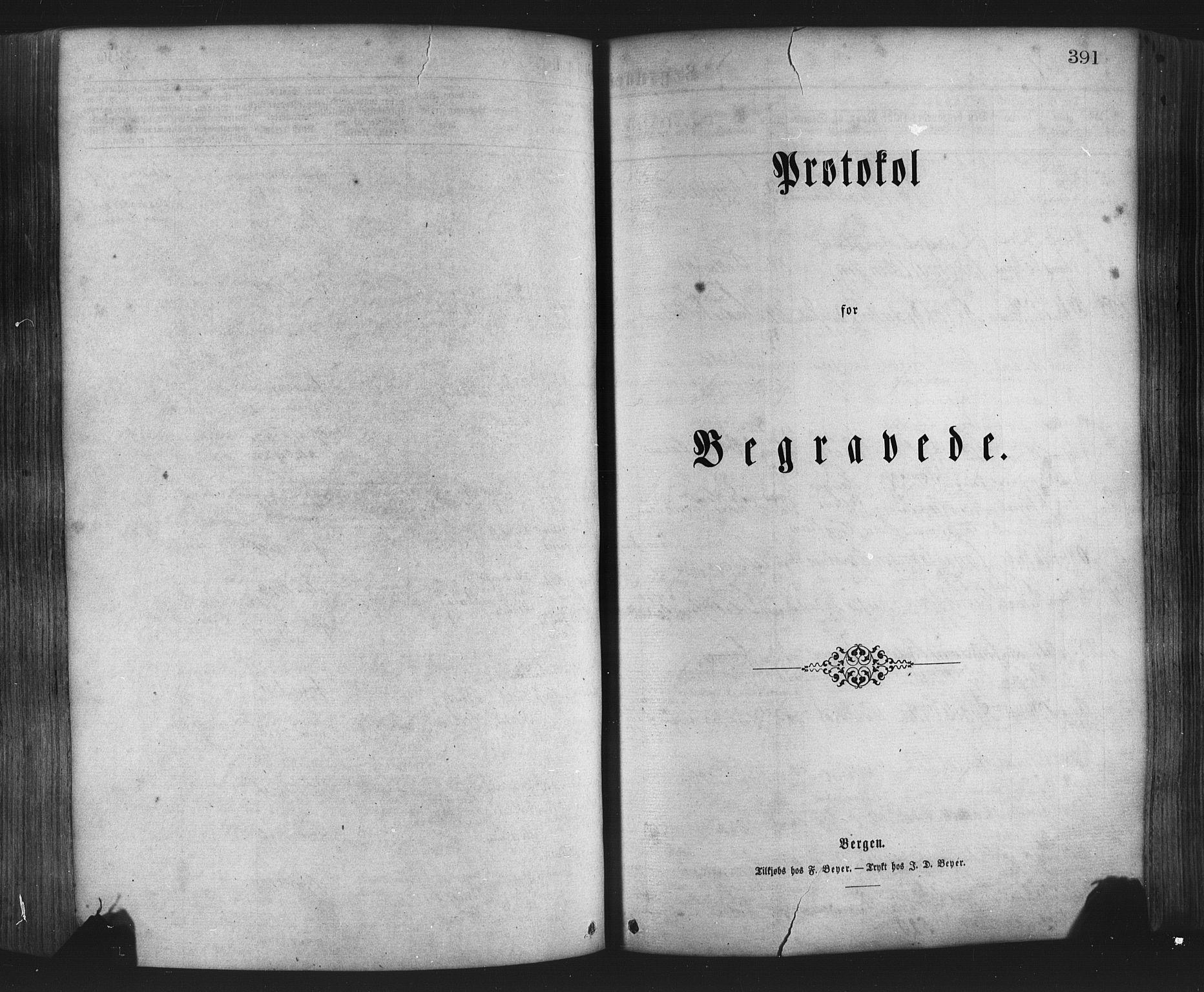 SAB, Hamre Sokneprestembete, H/Ha/Haa: Ministerialbok nr. A 15, 1870-1881, s. 391