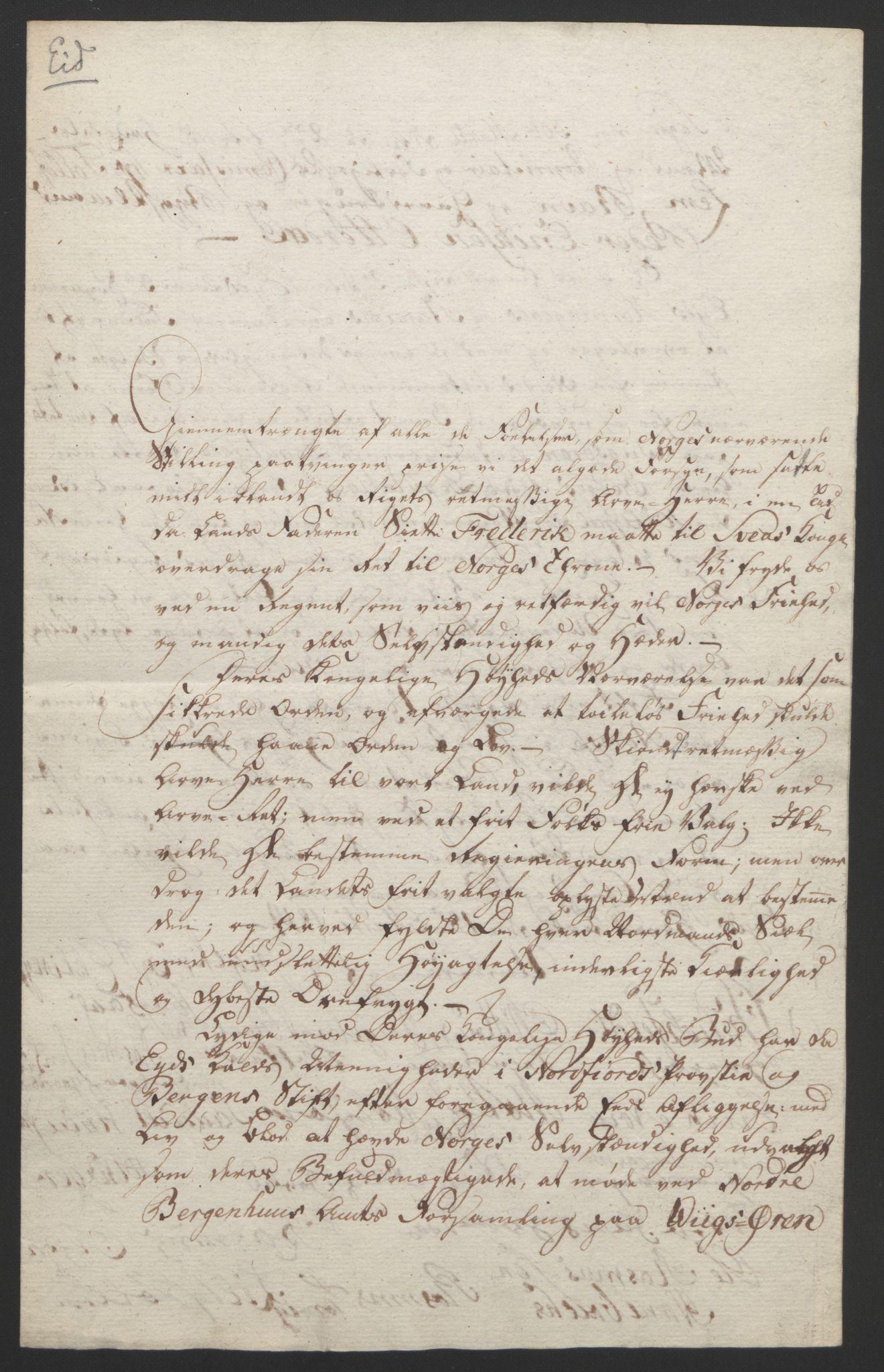 RA, Statsrådssekretariatet, D/Db/L0008: Fullmakter for Eidsvollsrepresentantene i 1814. , 1814, s. 315
