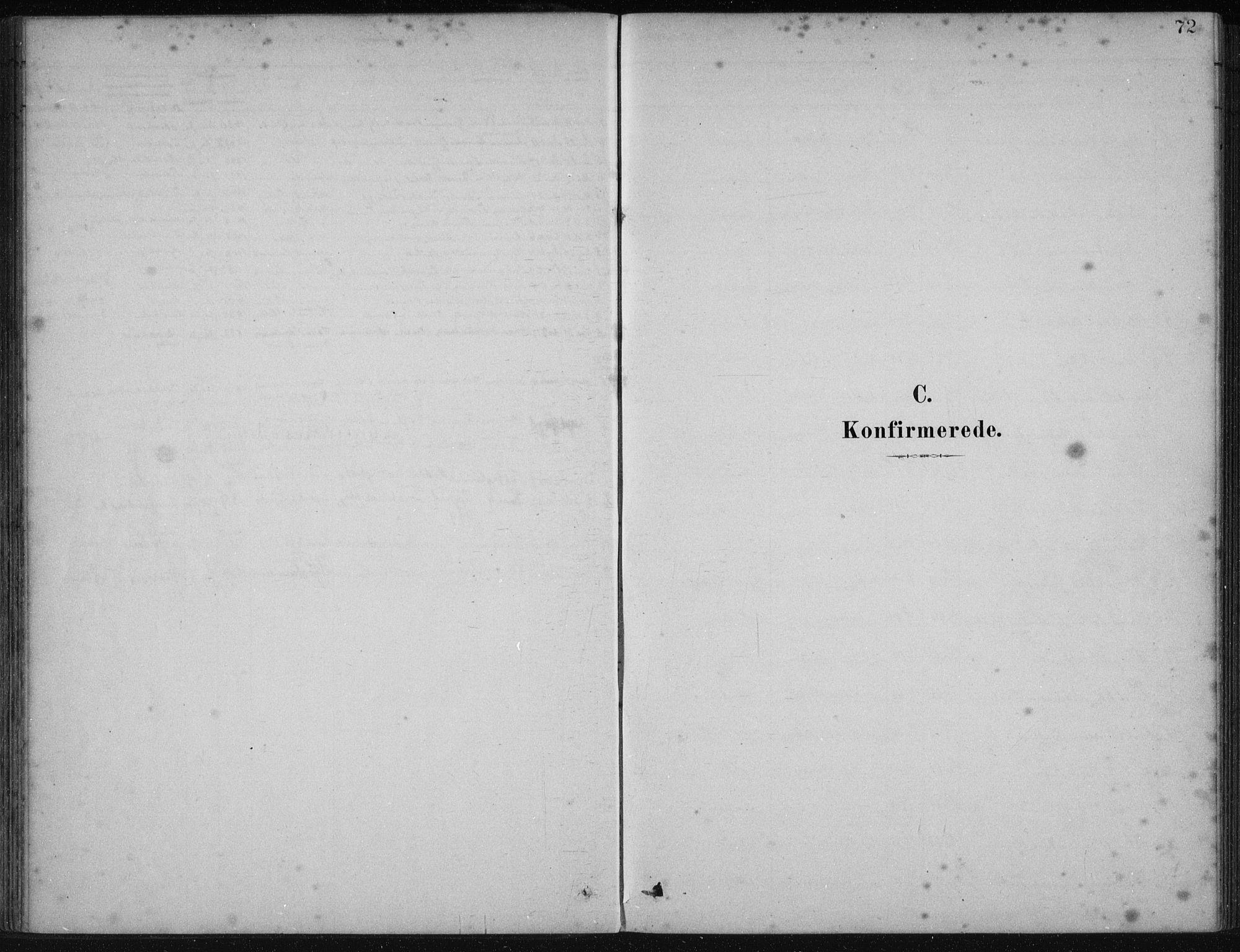 SAB, Fjelberg Sokneprestembete, H/Haa: Ministerialbok nr. B  1, 1879-1919, s. 72