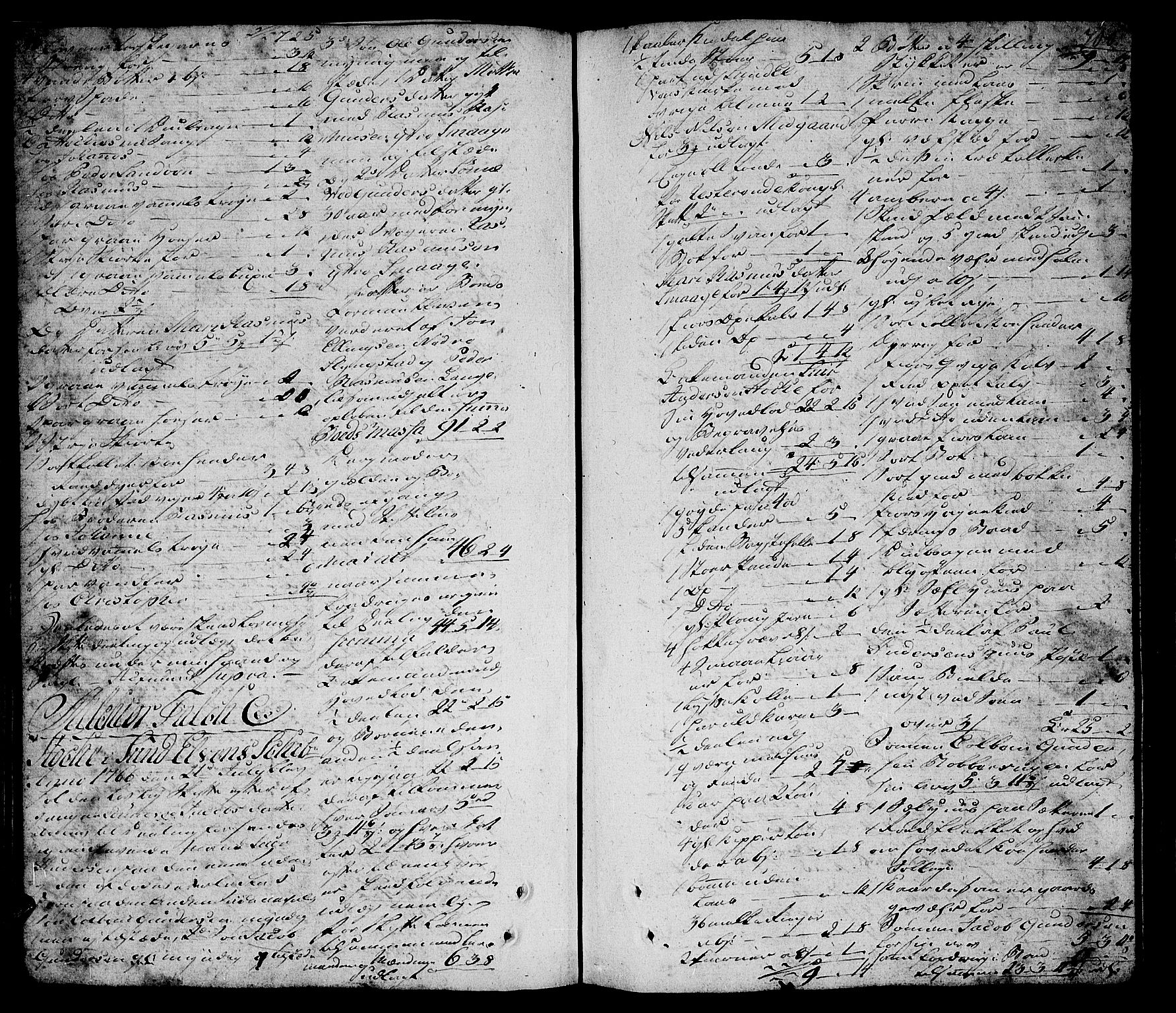 SAT, Sunnmøre sorenskriveri, 3/3A/L0022: Skifteprotokoll 15B, 1765-1767, s. 700