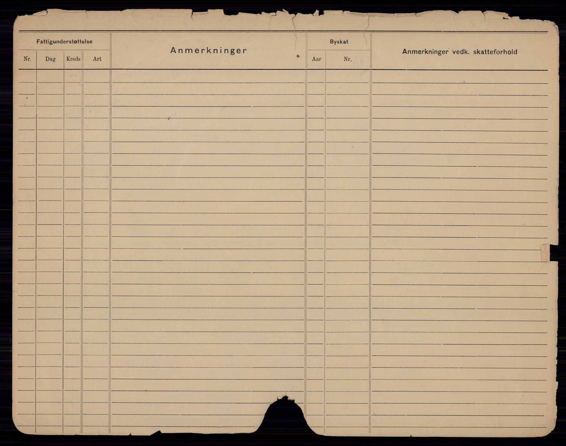 SAO, Oslo folkeregister, Registerkort, G/Gb/L0022: Kvinner, 1916