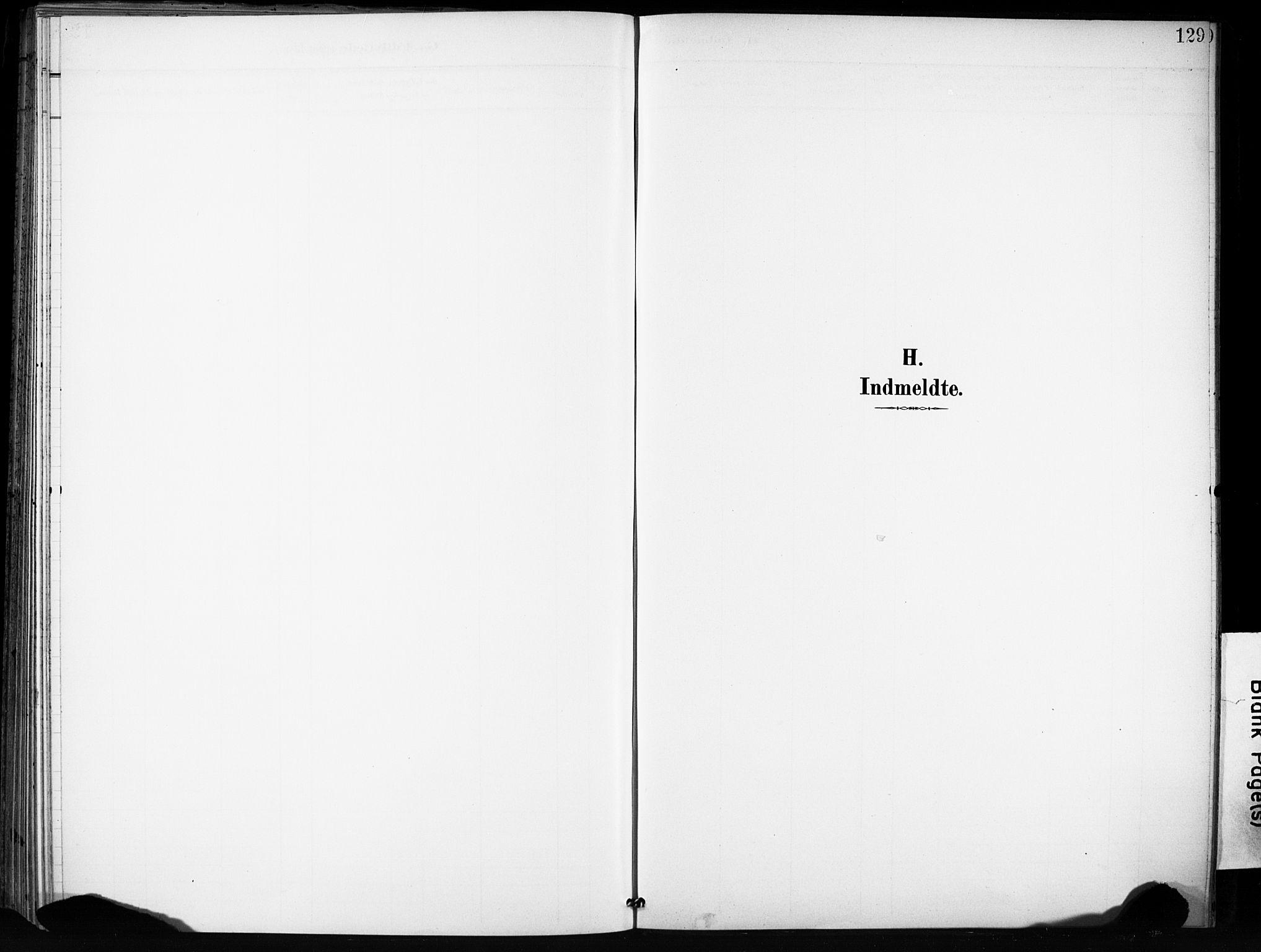 SAT, Ministerialprotokoller, klokkerbøker og fødselsregistre - Sør-Trøndelag, 666/L0787: Ministerialbok nr. 666A05, 1895-1908, s. 129