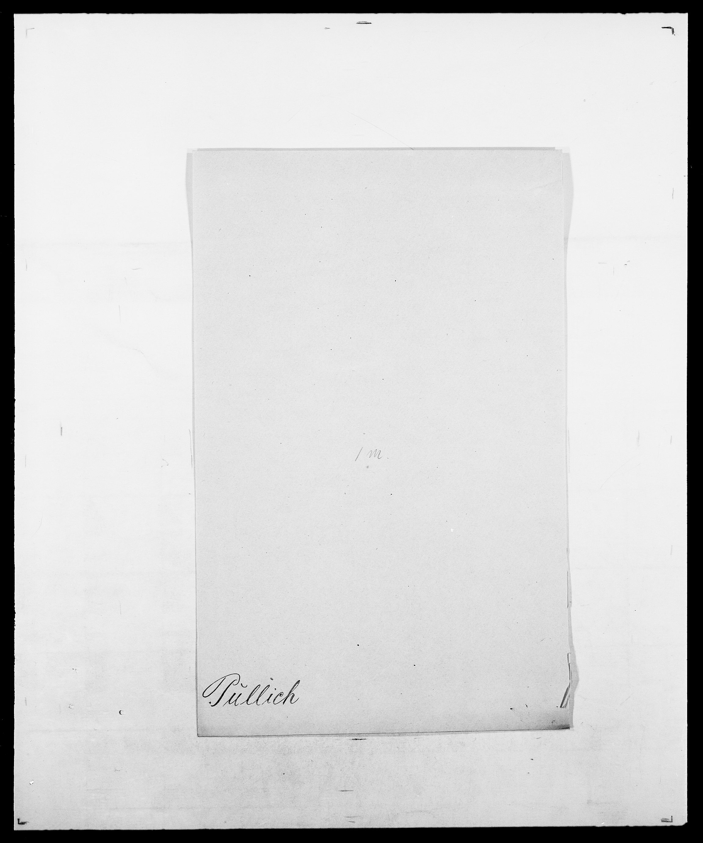 SAO, Delgobe, Charles Antoine - samling, D/Da/L0031: de Place - Raaum, s. 439